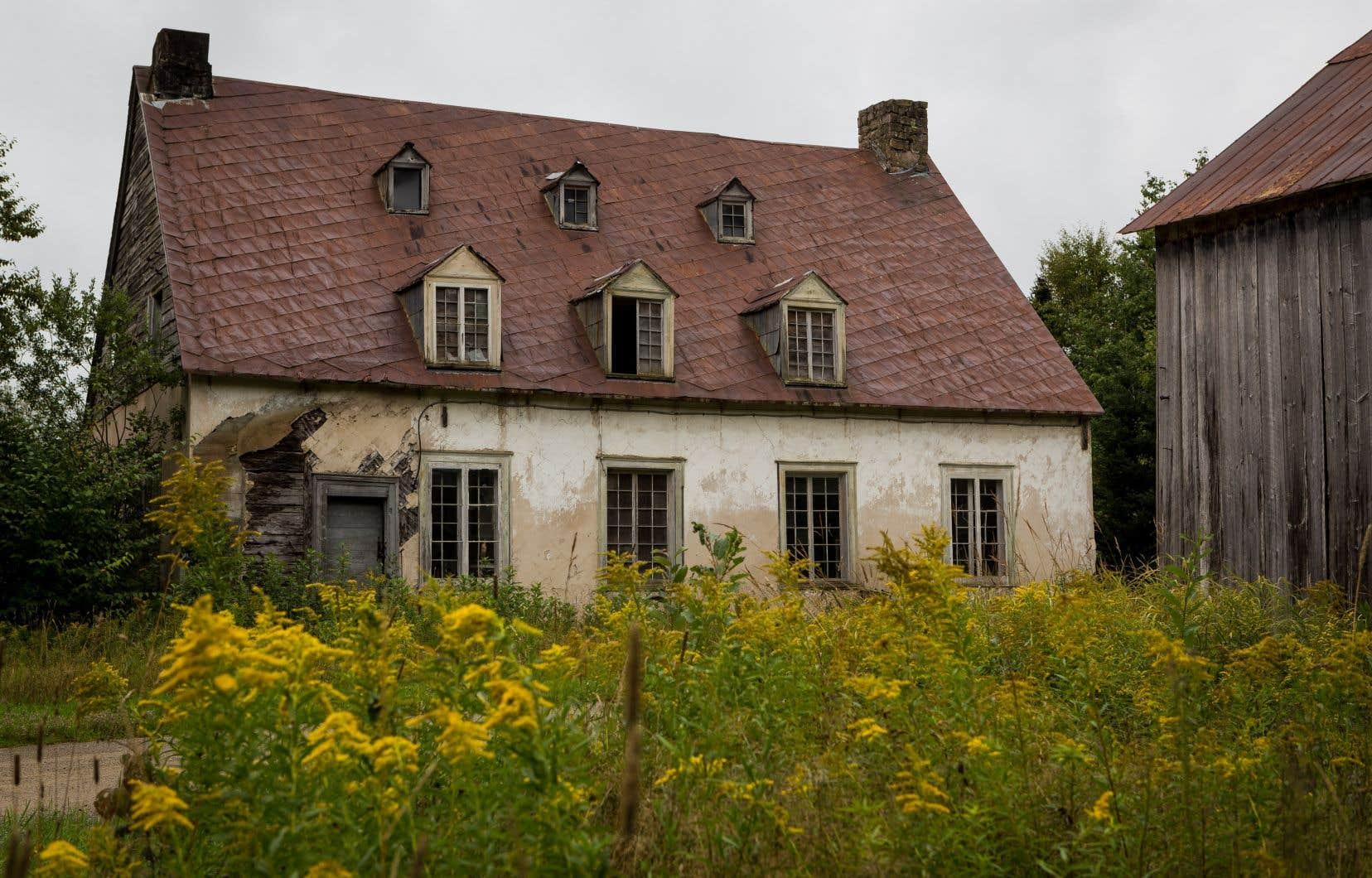 La maison de l'homme politique québécois et éditeur John Neilson, à Saint-Gabriel-de-Valcartier