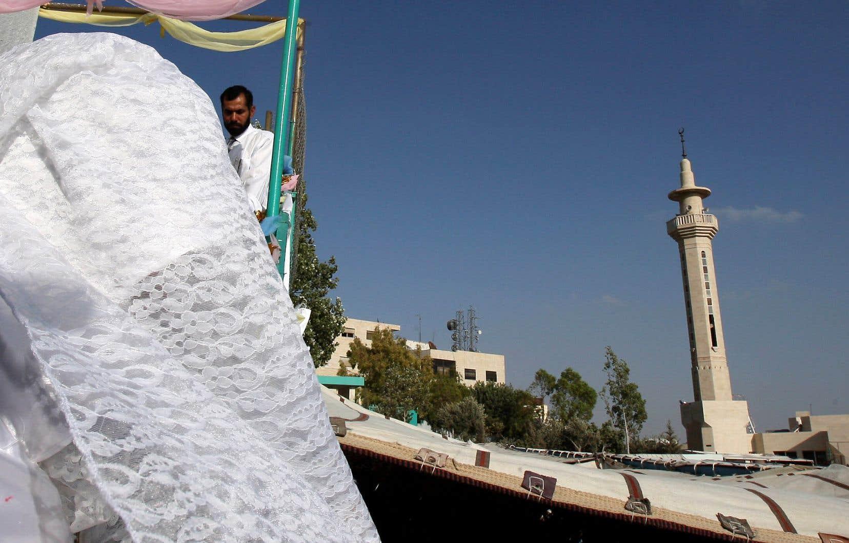 Selon des statistiques du ministère de la Justice jordanien, environ 13,4% des marriages conclus en 2017 impliquaient une mineure.