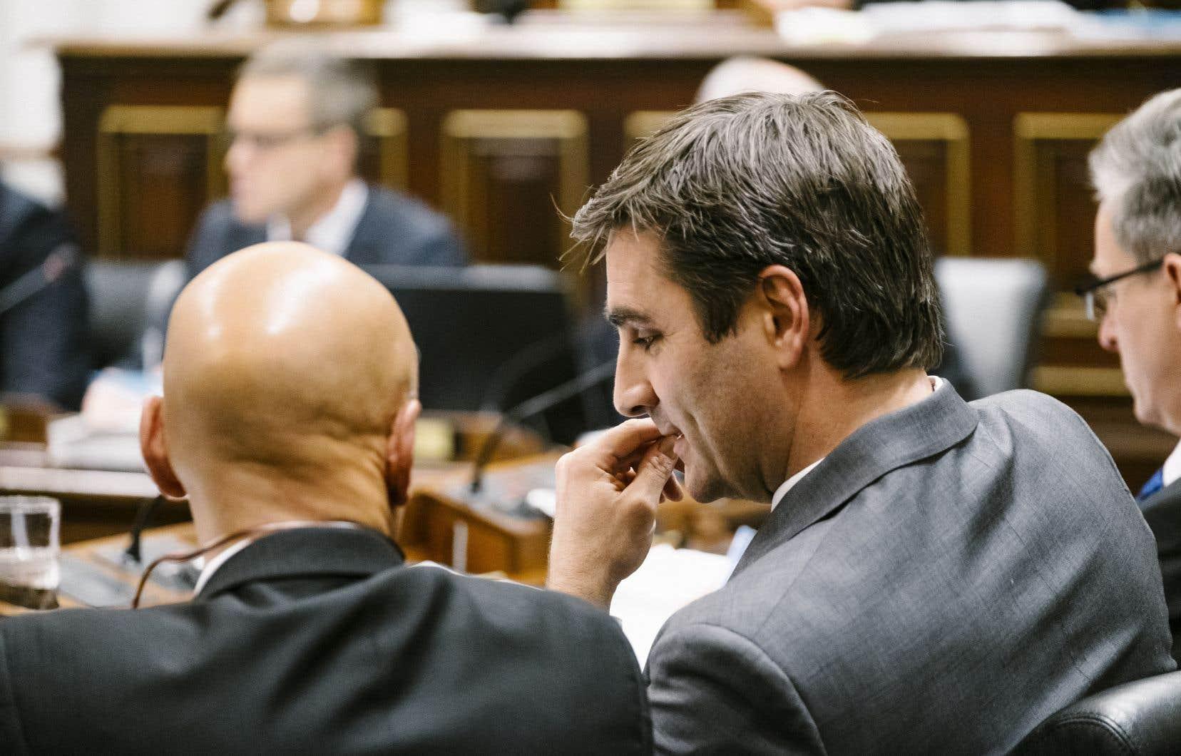 Jean-François Gosselin a vu tous les membres du conseil d'administration, sauf un, de son parti politique remettre leur démission ces derniers jours.