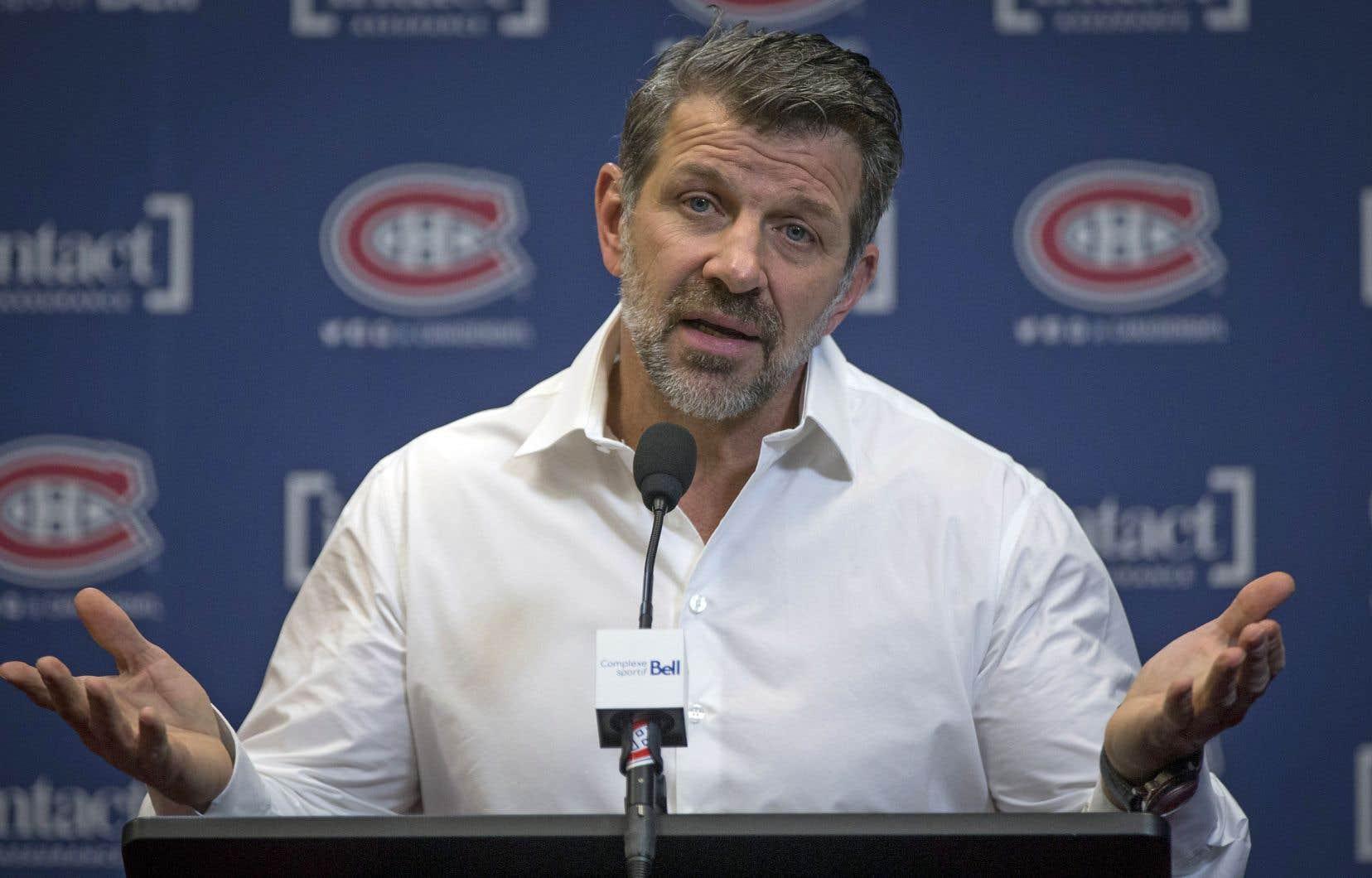 Le directeur général du Canadien, Marc Bergevin