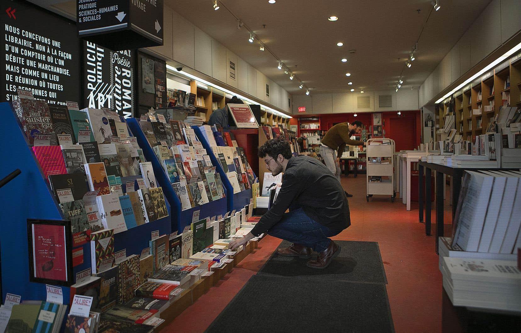 La LIQ espère qu'en se déployant, Quialu permettra de tisser une proximité entre lecteurs, libraires et littérature. Un des objectifs est aussi de faire découvrir le travail précieux des «libraires-influenceurs», comme ceux de la Librairie Gallimard (notre photo).
