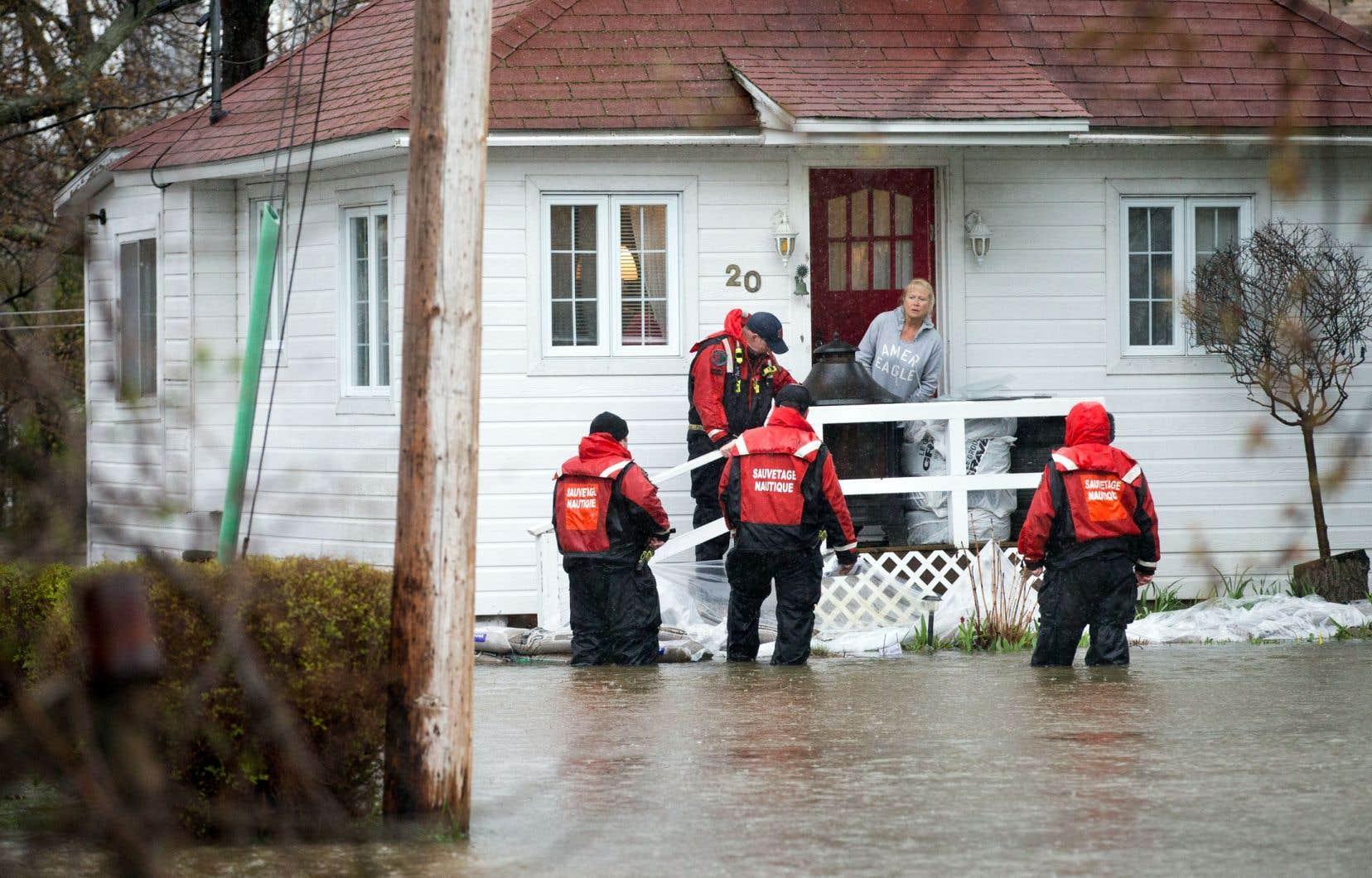 Un groupe de travail de la CMM s'efforce de mieux encadrer les constructions situées en zones inondables afin d'en réduire la vulnérabilité aux inondations.