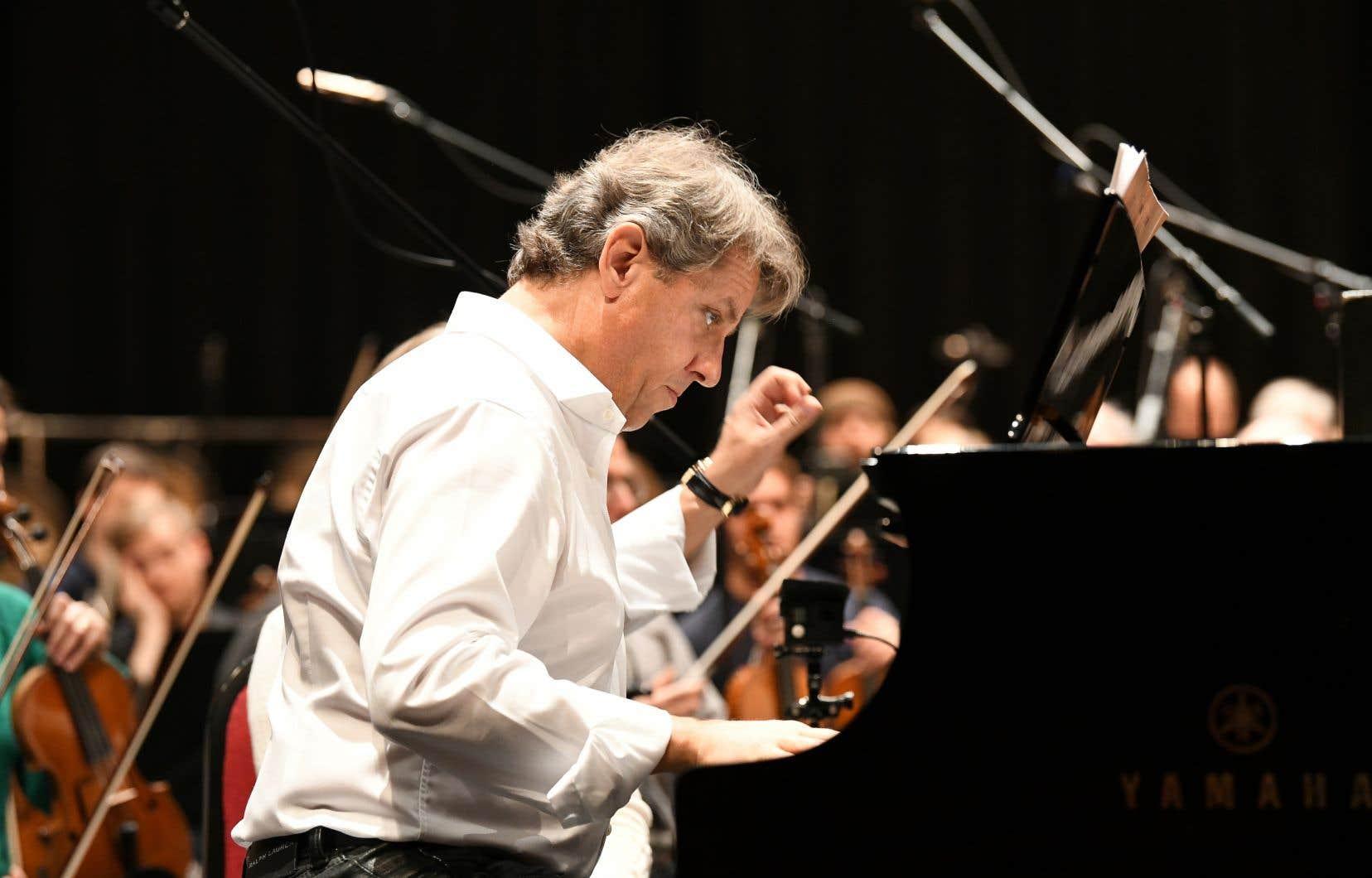 Le nouveau disque du pianiste Alain Lefèvre, «My Paris Years»<em>,</em>paraît vendredi.