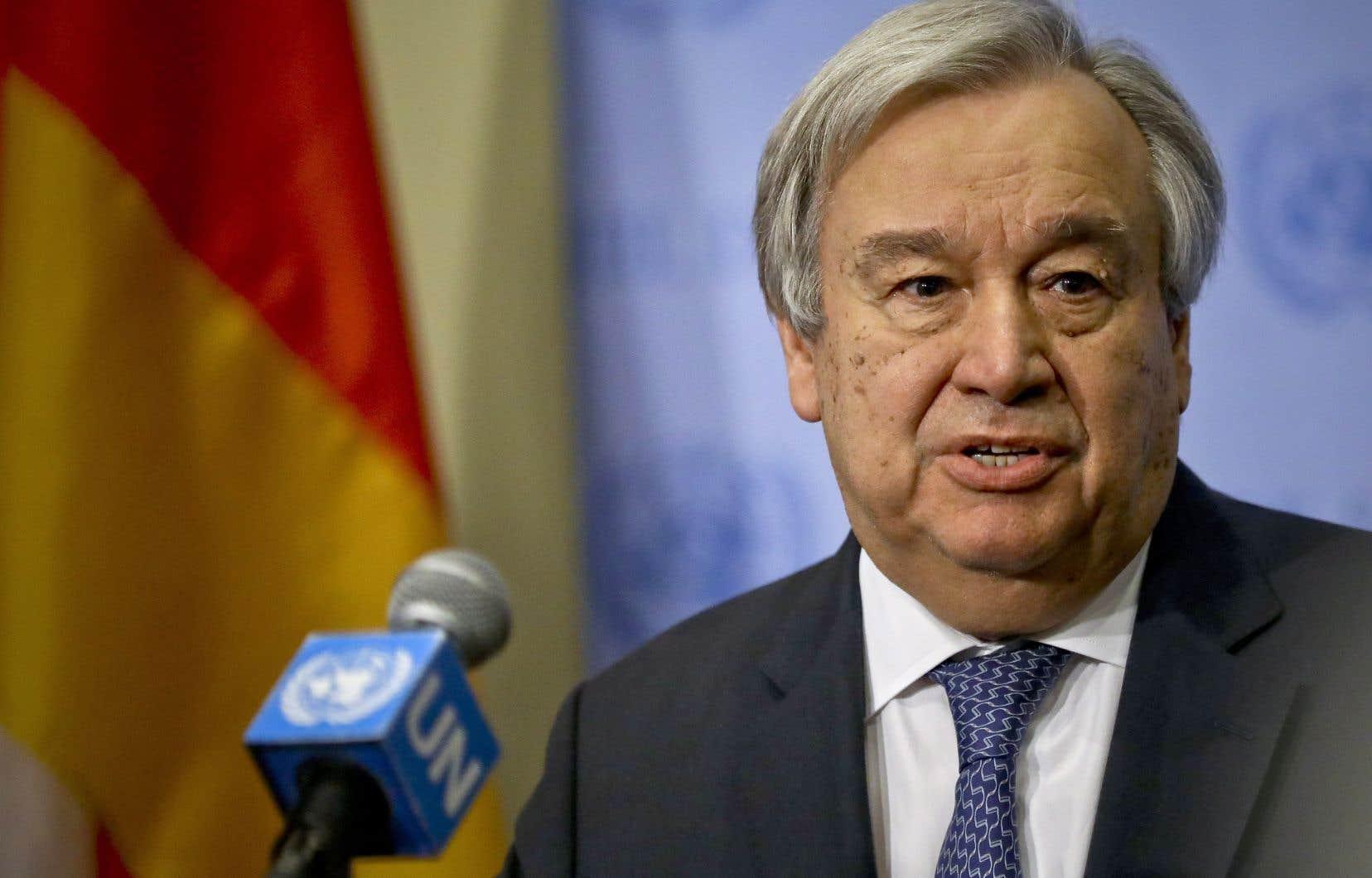 «Il est encore temps d'arrêter» les affrontements, «encore temps d'avoir un cessez-le-feu, d'éviter le pire», a déclaré à des médias le secrétaire général de l'ONU, Antonio Guterres.