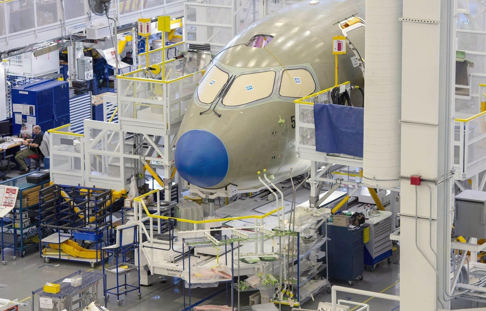 La prise de contrôle du programme de la CSeries — rebaptisé A220 — par Airbus a fait en sorte que les employés affectés à l'assemblage de cet avion à Mirabel, dans les Laurentides, sont désormais dans le giron de la société en commandite.