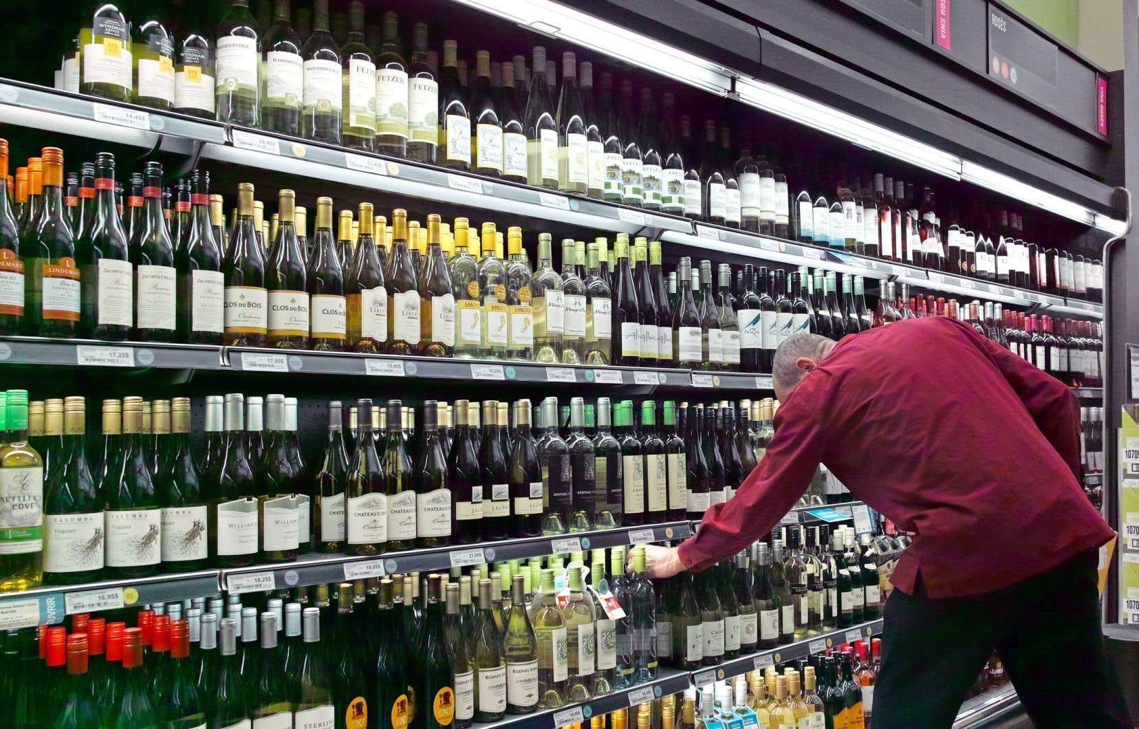 Le vin est toujours responsable de la vaste majorité du chiffre d'affaires de la SAQ.