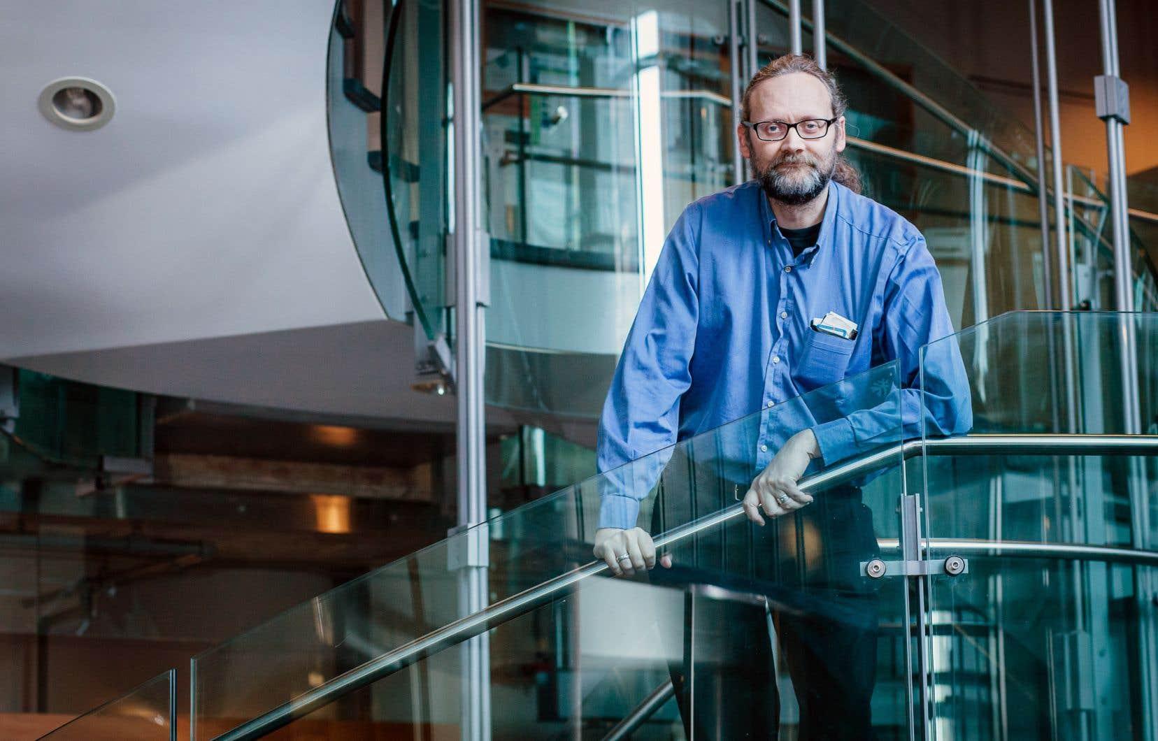 Le professeur Alex De Visscher est responsable du nouveau Département de génie chimique et des matériaux de l'université Concordia.