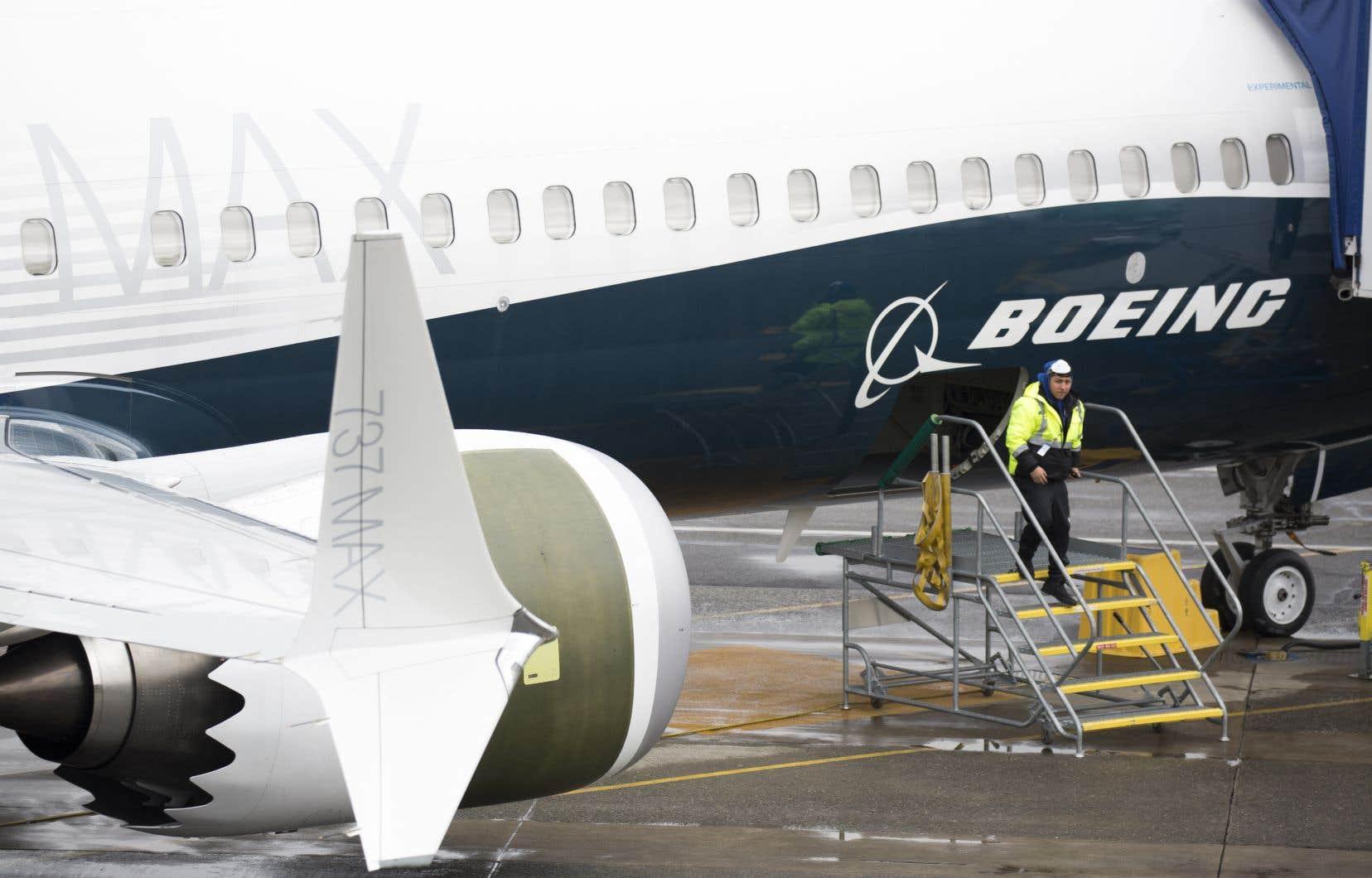 Boeing a annoncé début avril la réduction de près de 20% de la production de son 737 MAX.
