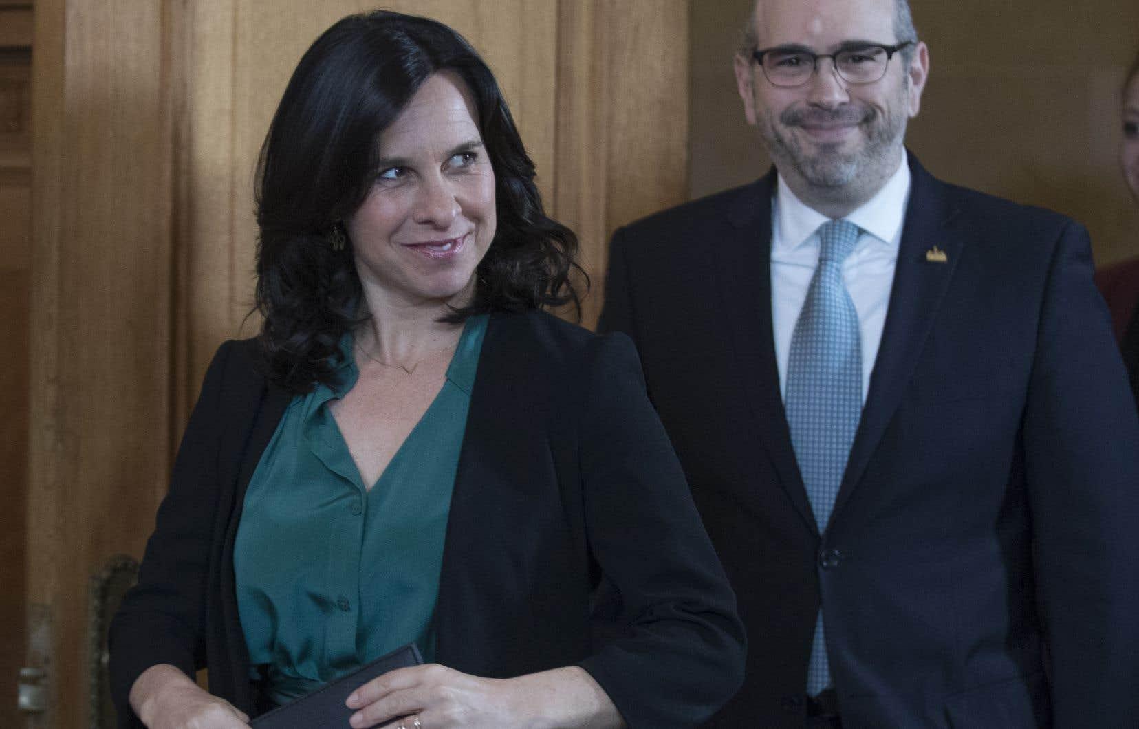 La mairesse Valérie Plante et le chef de l'opposition, Lionel Perez, ont fait une déclaration commune, lundi, en réaction au projet de loi 21. Cette déclaration prône une «laïcité ouverte» et accorde un soutien «indéfectible» aux employés de la Ville à ce chapitre.