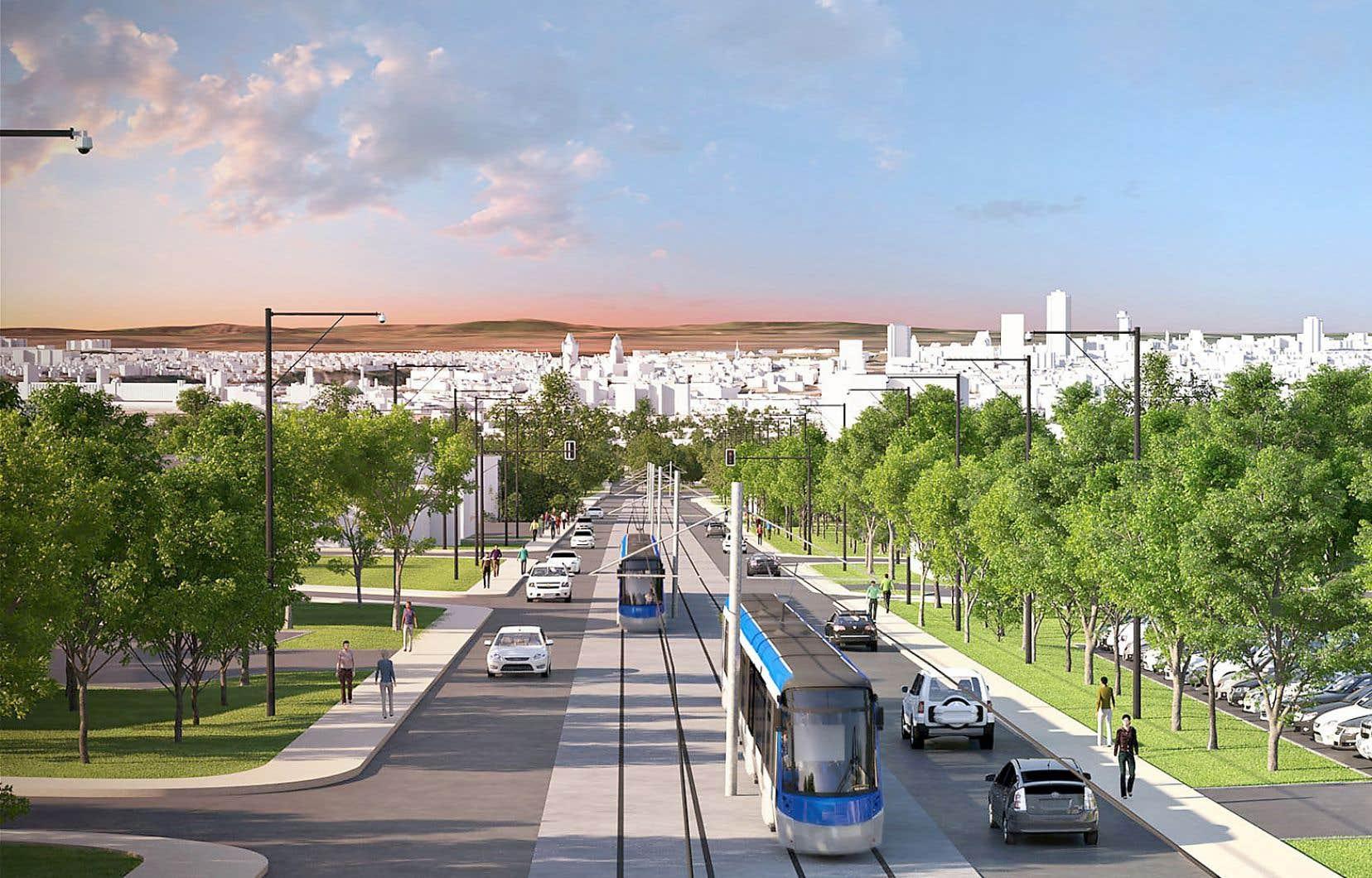 L'administration Labeaume compte sur une participation de 1,2milliard du gouvernement fédéral dans le financement de son projet de tramway.