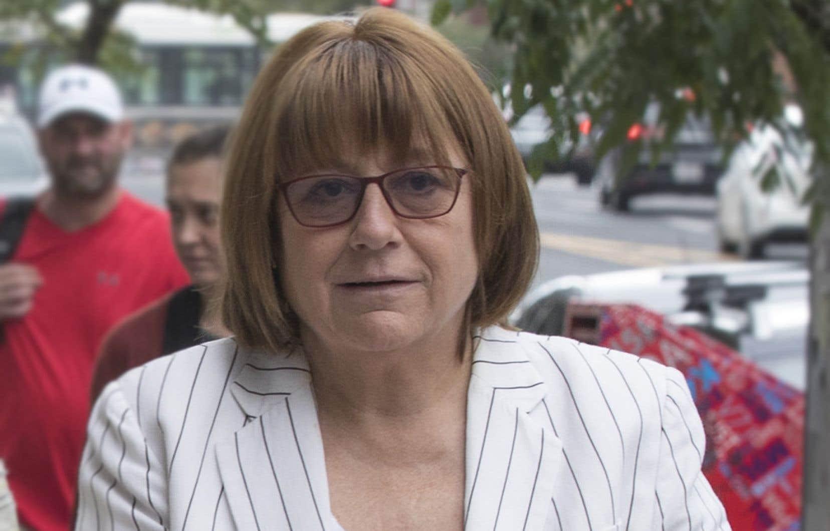 Christiane Pelchat, avocate et présidente du Conseil du statut de la femme de 2006 à 2011