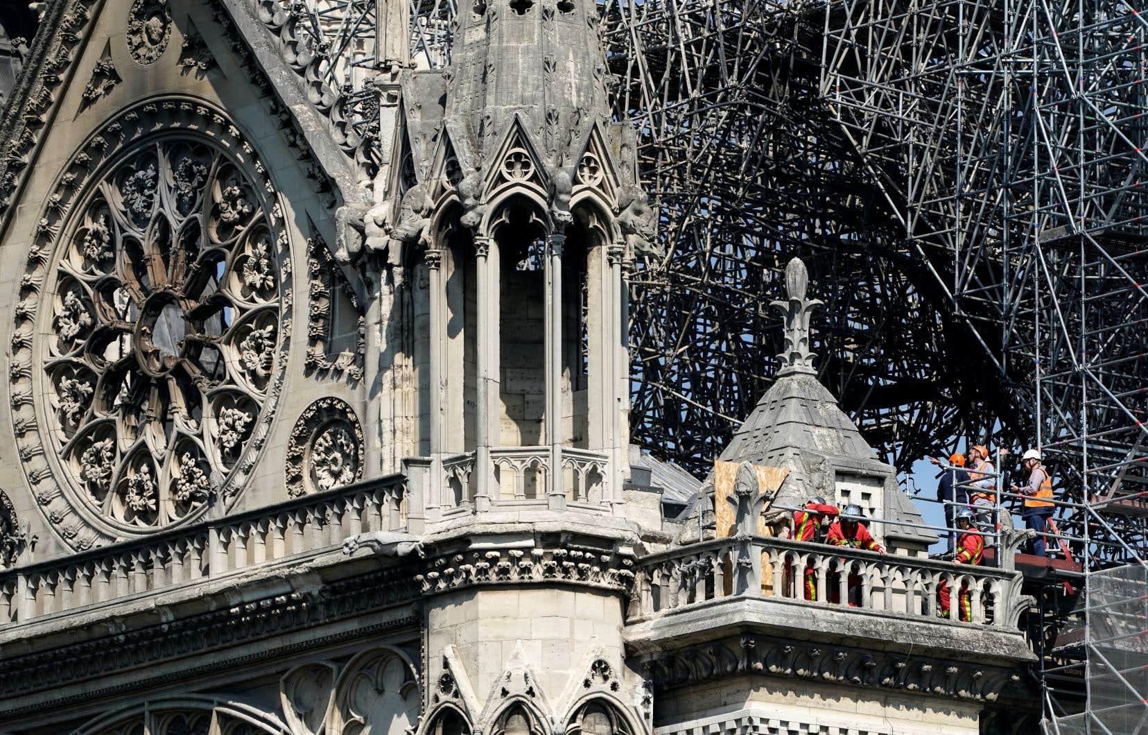 La cathédrale Notre-Dame, un bijou d'architecture gothique vieux de 850ans, a été la proie des flammes lundi soir (heure de Paris).