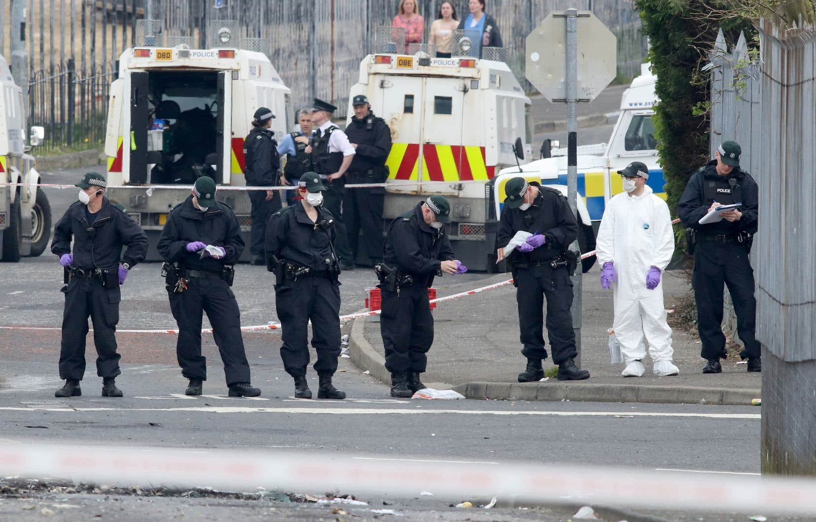 Après la mort de Lyra McKee, la police nord-irlandaise a affirmé avoir constaté un «changement radical» dans le quartier de Creggan, jusqu'ici réputé pour ses relations tendues avec les forces de l'ordre.