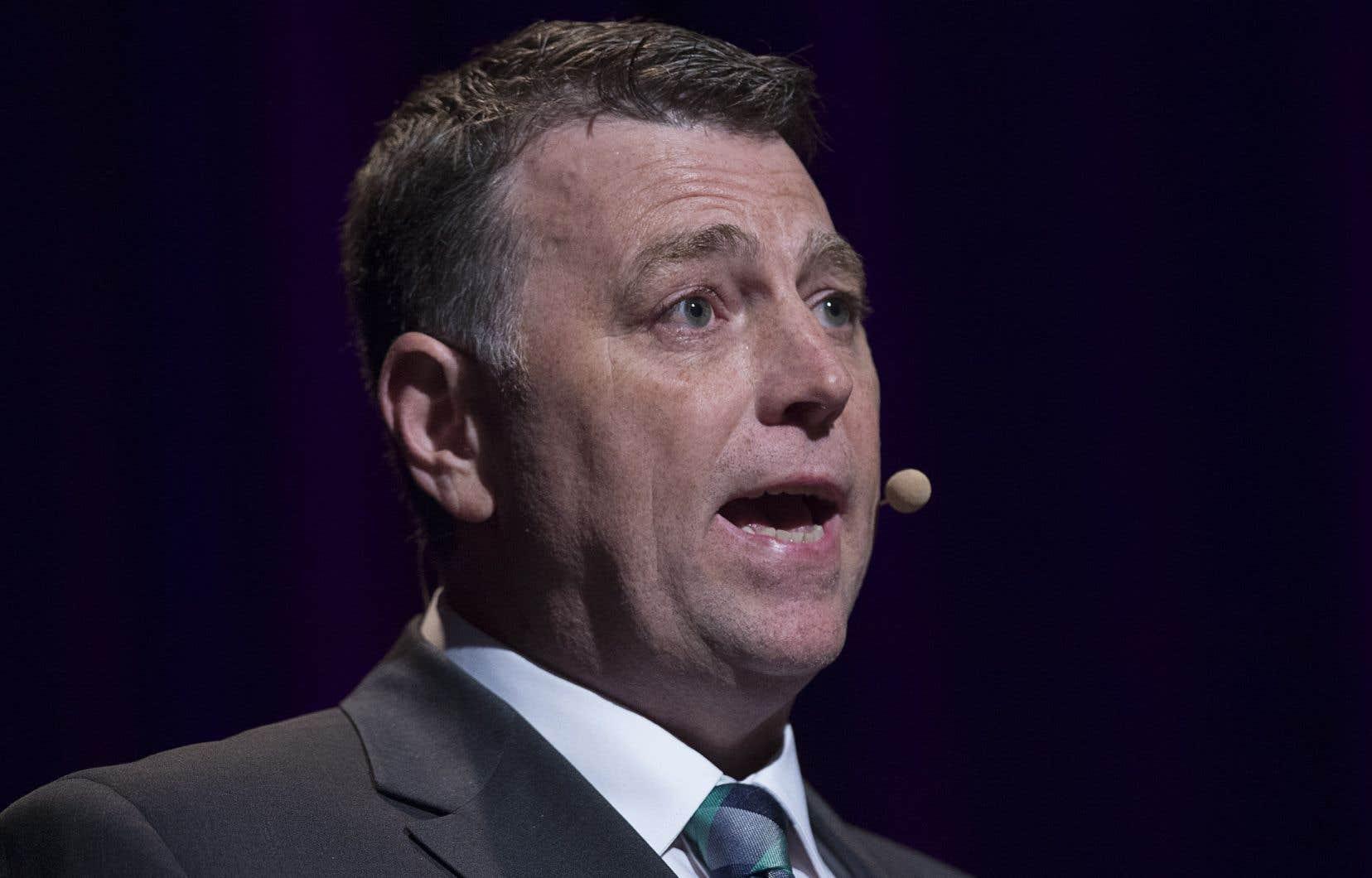 Le chef du Parti progressiste-conservateur, Dennis King, n'est en poste que depuis février.