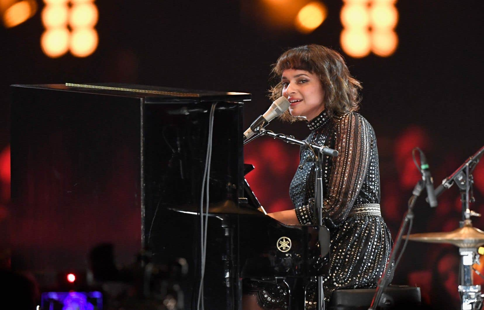 La chanteuse Norah Jones