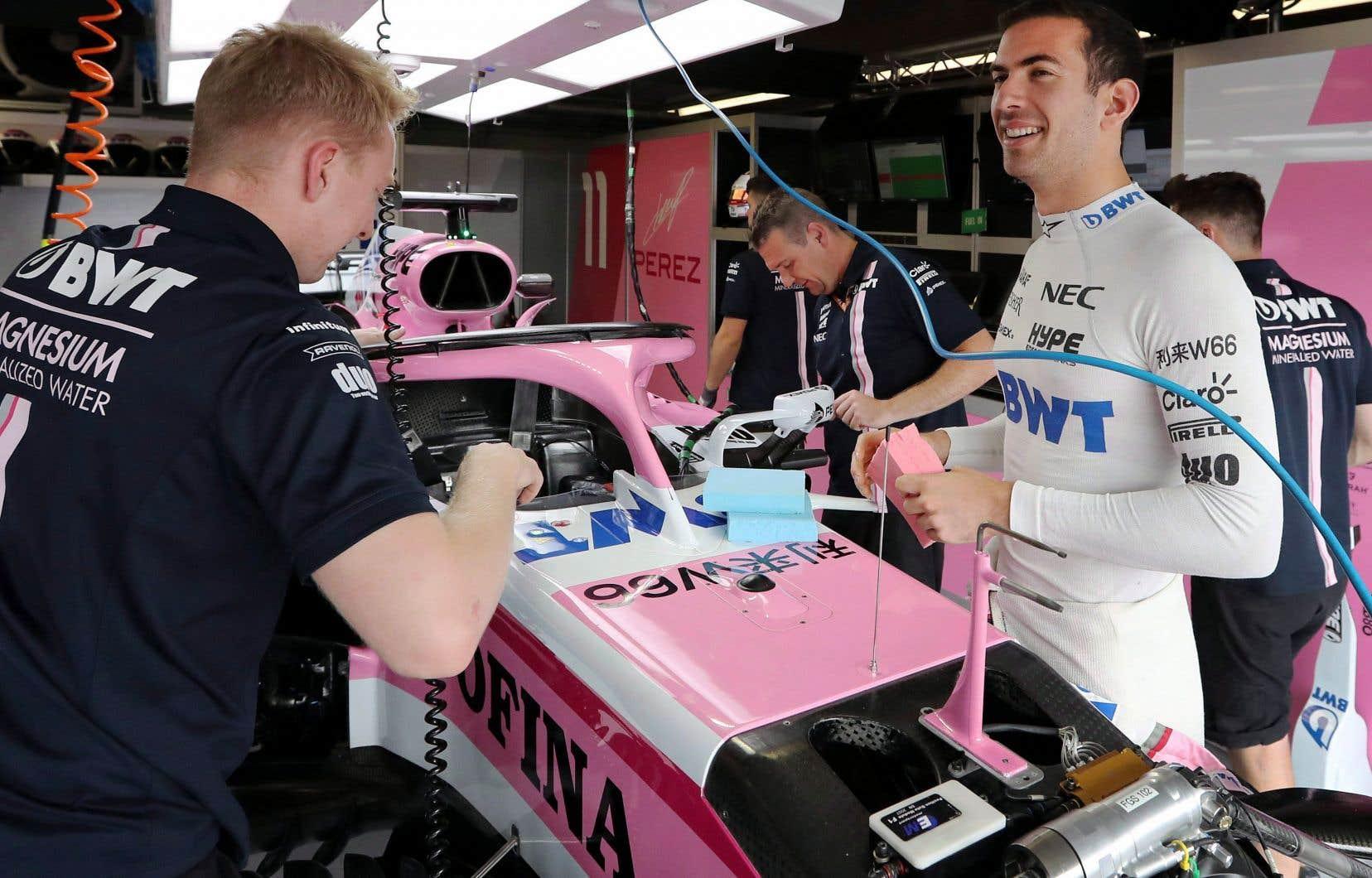 Nicolas Latifi, né à Montréal, avait pris part aux essais libres du Grand Prix du Canada la saison dernière.