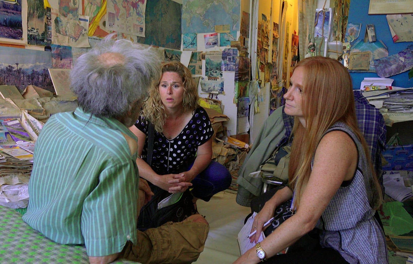 Magalie et Martine intervenant dans «Urgence santé mentale»