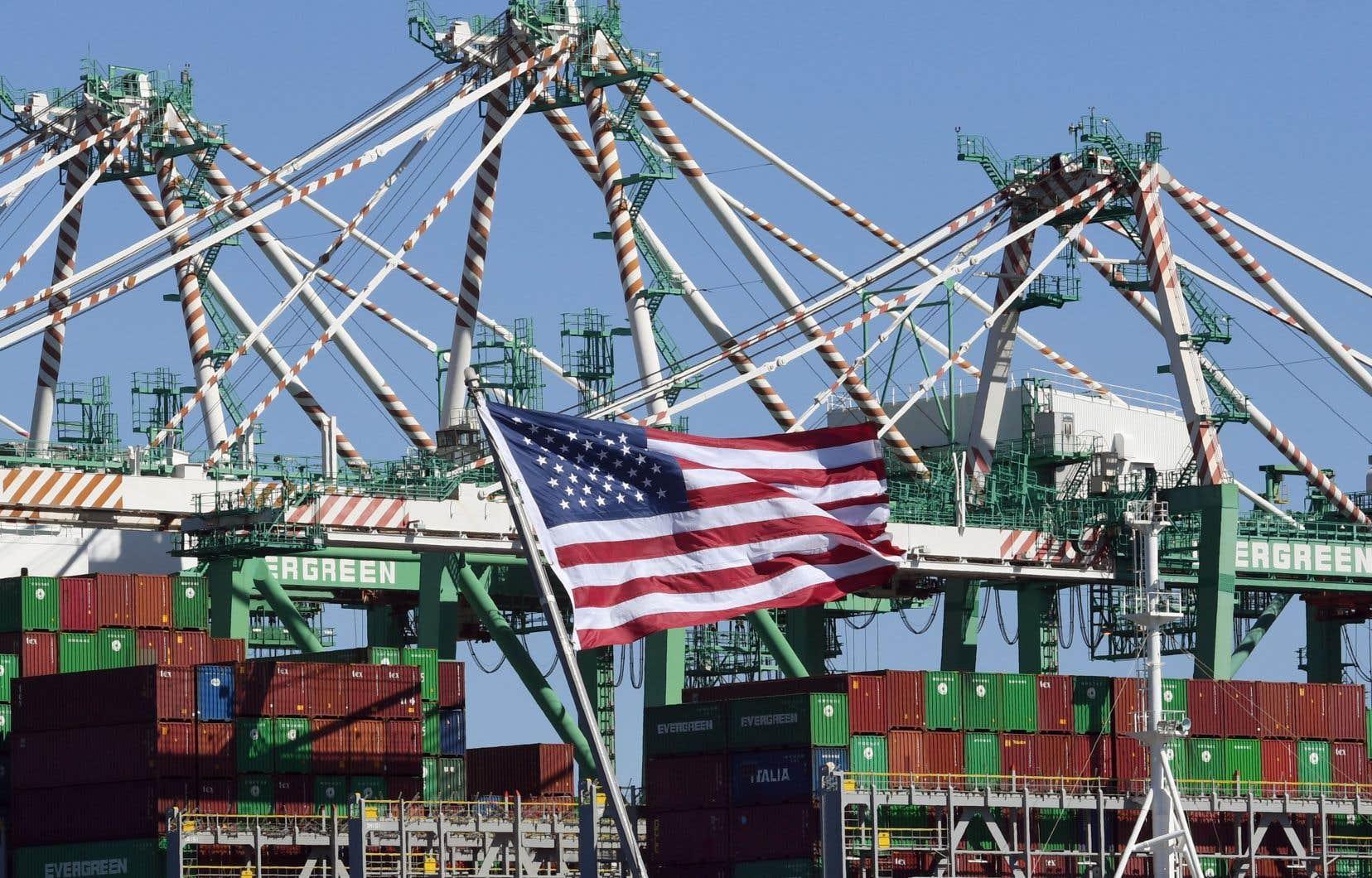C'est notamment le commerce qui a propulsé la croissance économique américaine.