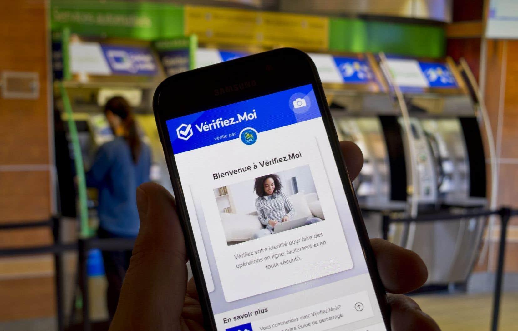 L'application Vérifiez.Moi aide à vérifier l'identité d'une façon qu'on promet rapide et sécuritaire à partir d'un téléphone intelligent.