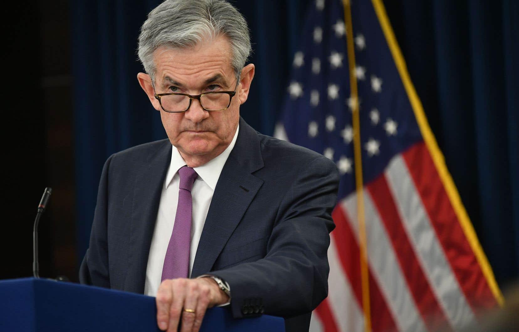 Le président de la Fed, Jerome Powell, a noté que les principaux indicateurs économiques étaient généralement «conformes aux attentes à long terme».
