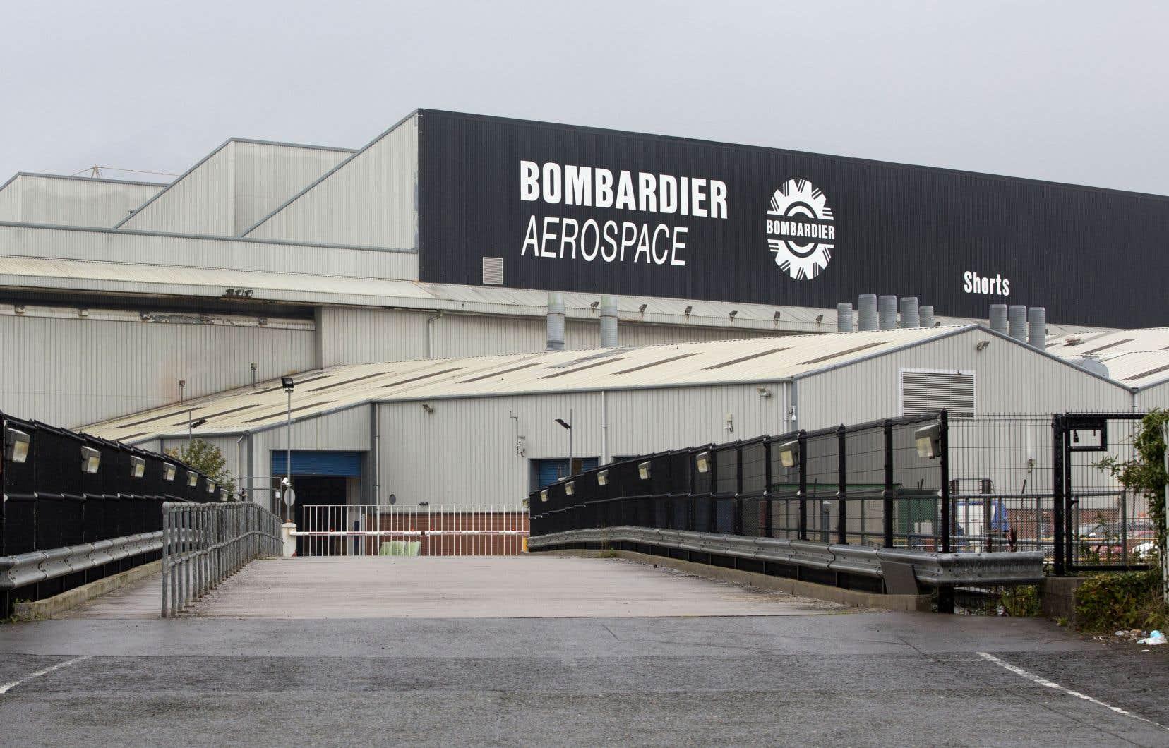 Les usines de Bombardier situées à Belfast, en Irlande du Nord, et au Maroc risquent de fermer.