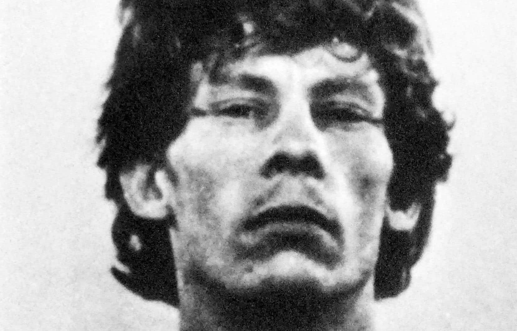 Photo prise par la police, le 3 septembre 1988, de Gilles Bertin en cavale