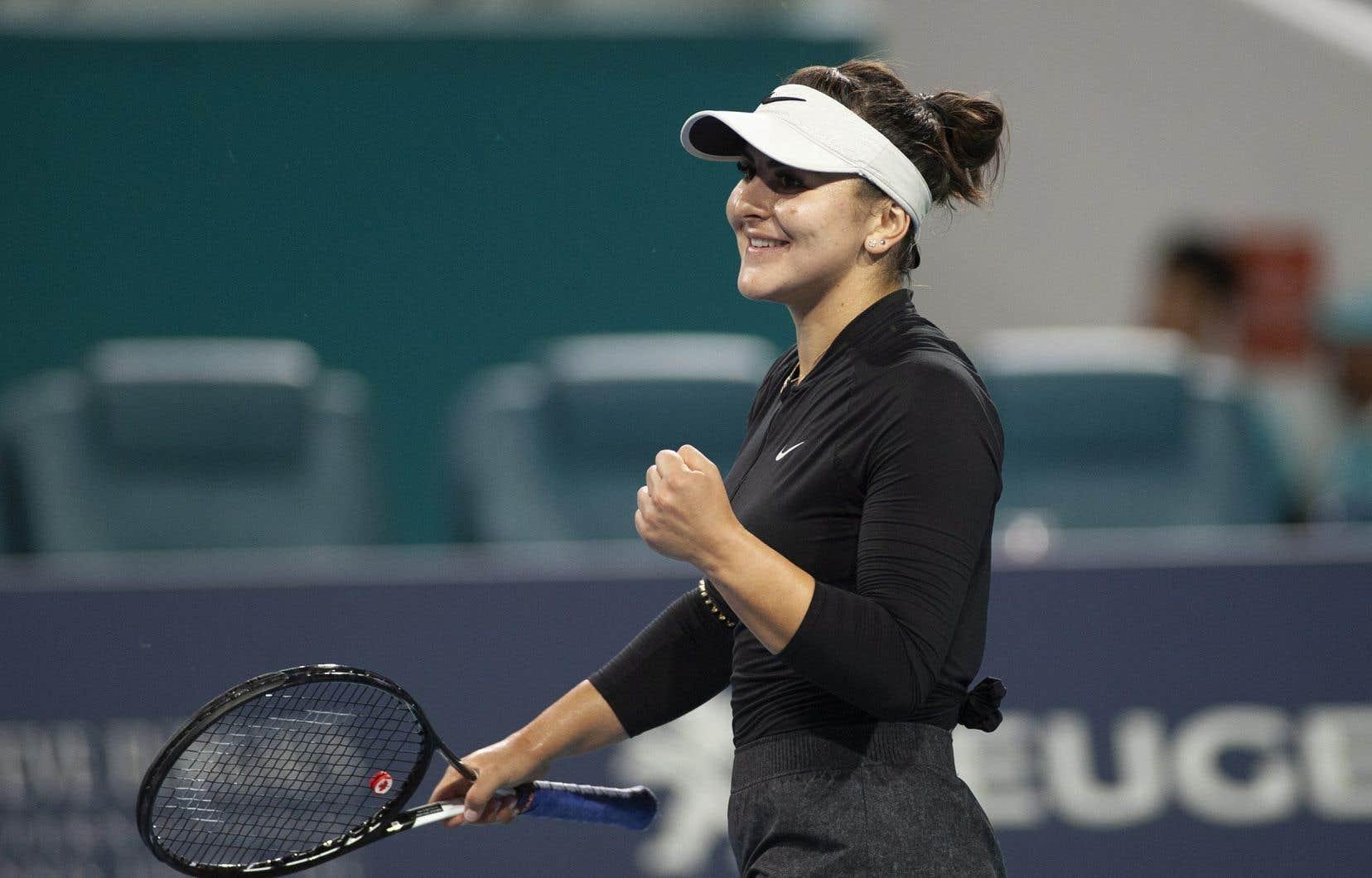 Andreescu ne participera pas au Masters de Madrid et sa présence est incertaine pour le Masters de Rome, qui se déroulera du 13 au 19mai.
