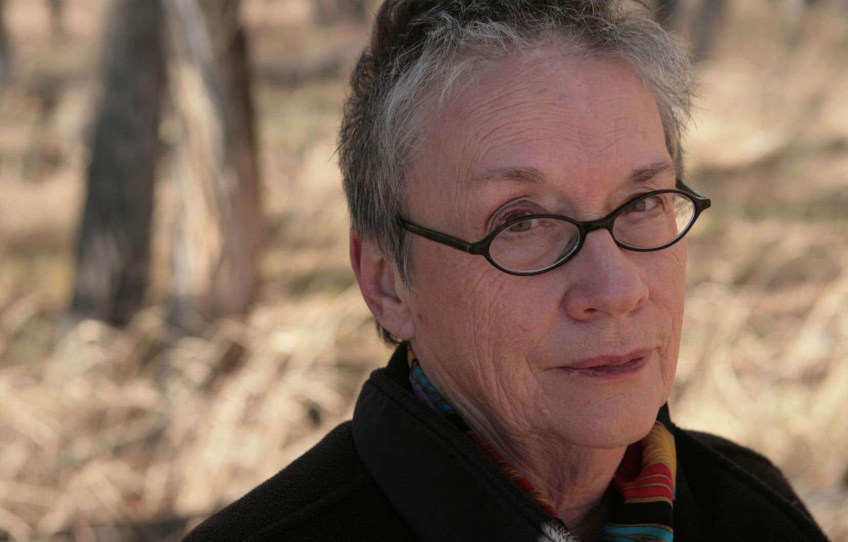 La romancière Annie Proulx