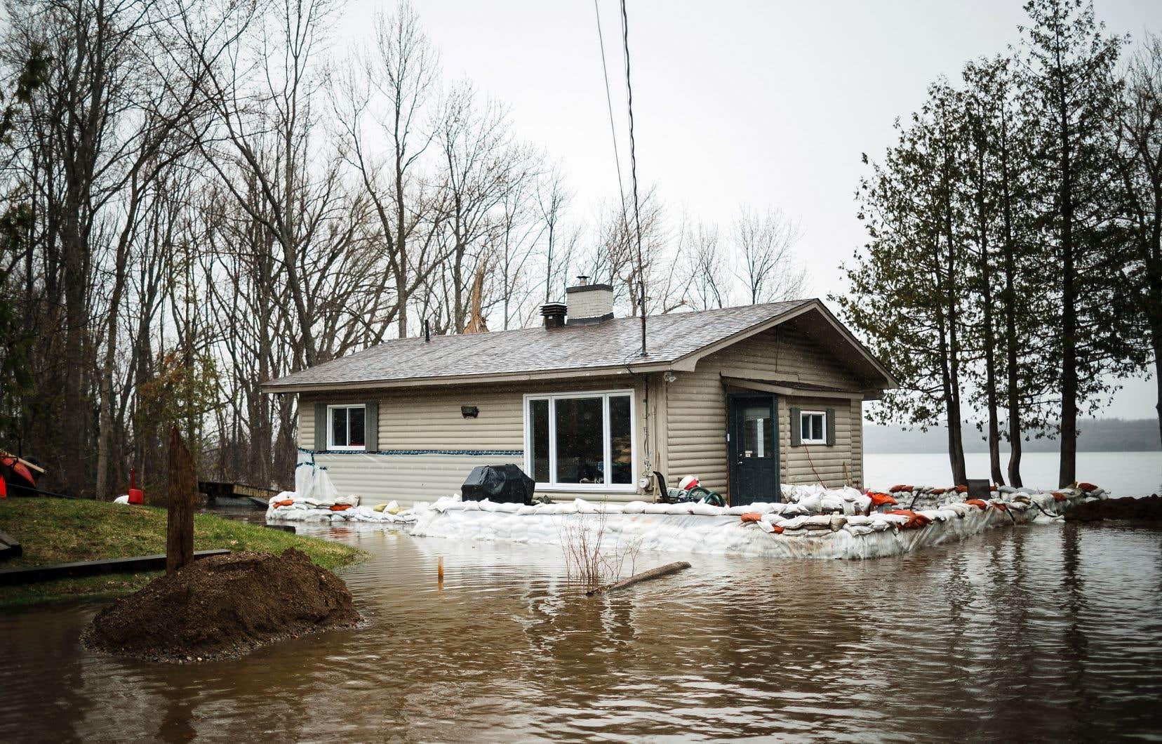 Plusieurs secteurs gatinois sont touchés par les inondations dues à la crue printanière.
