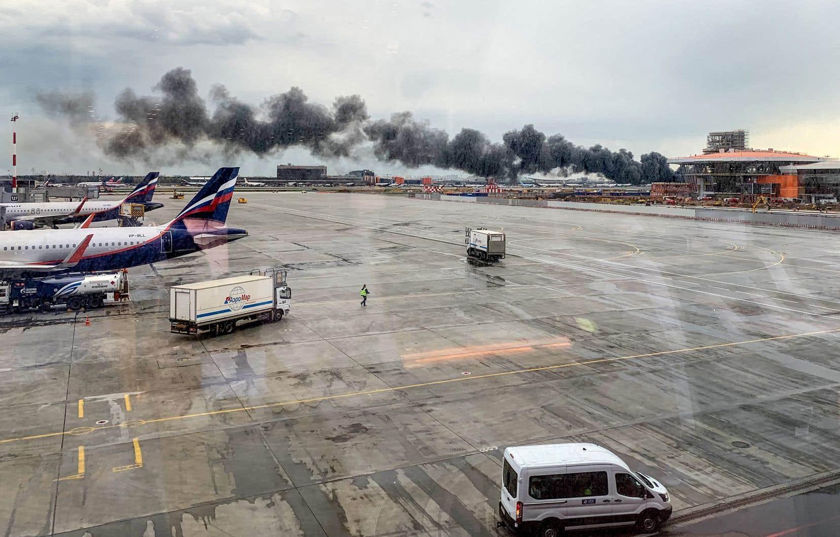 L'avion avait été contraint à un atterrissage d'urgence à Moscou-Cheremetievo quelques minutes après son décollage.
