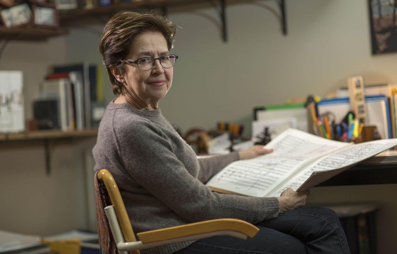 Lorraine Vaillancourt, fondatrice et directrice musicale du Nouvel Ensemble Moderne