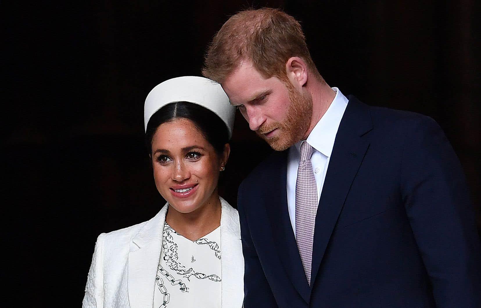 Le couple s'est marié au château de Windsor l'année dernière. Ils ont emménagé au Frogmore Cottage, une résidence royale située sur le terrain où ils ont organisé leur réception de mariage.