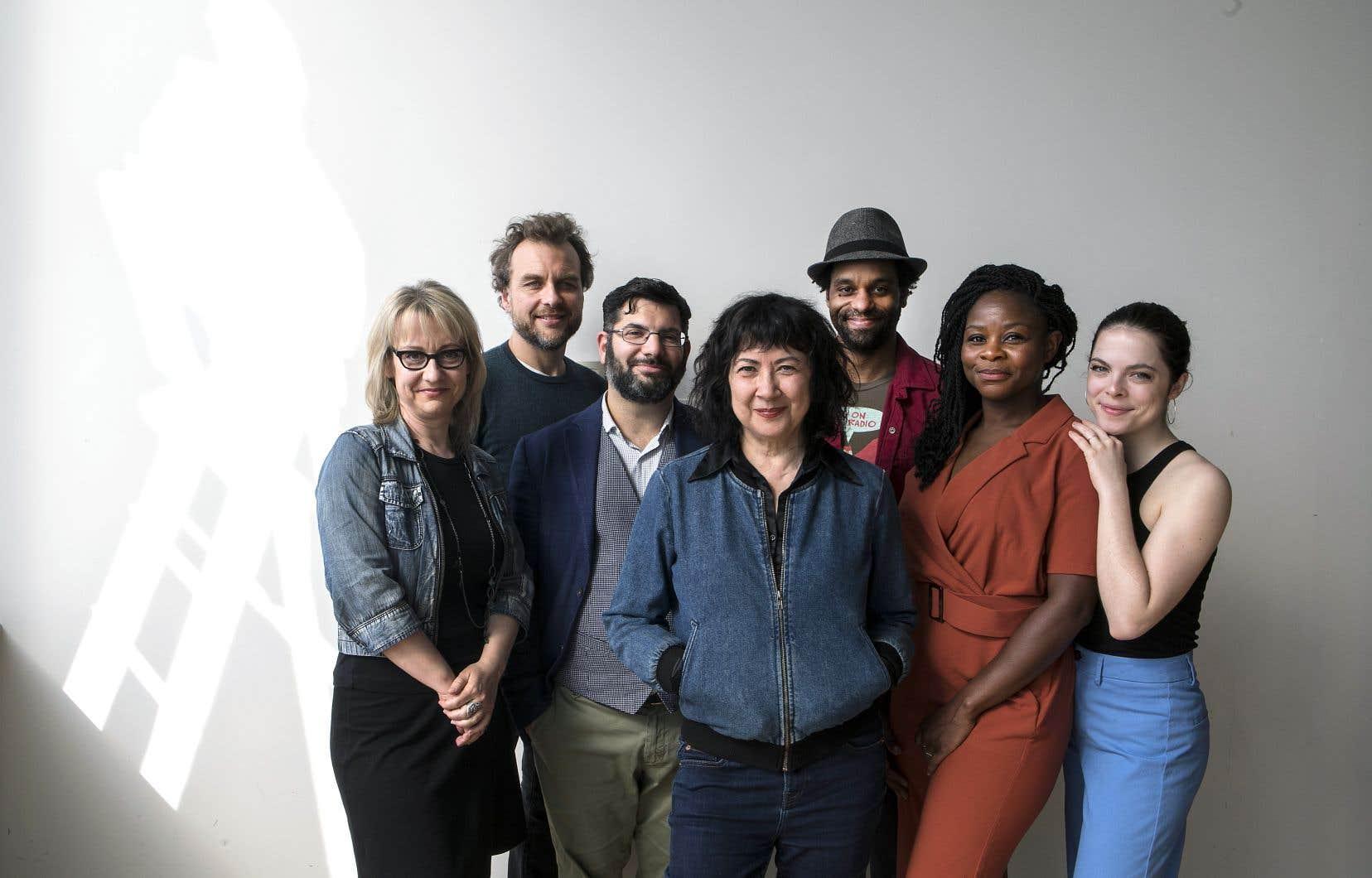 Nathalie Mallette, Patrice Dubois, Olivier Kemeid, Marie Brassard, Philippe Racine, Tatiana Zinga Botao et Laetitia Isambert seront de la prochaine saison du Quat'Sous.
