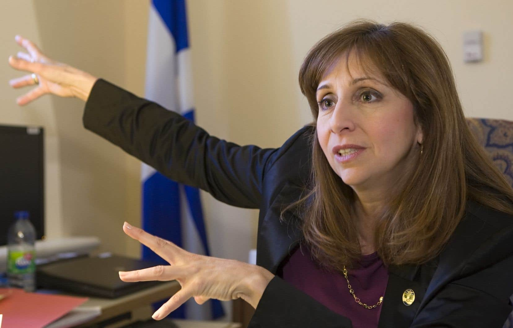 Le mandat de Mme Gauthier était de constituer le cabinet de la ministre Nathalie Roy.