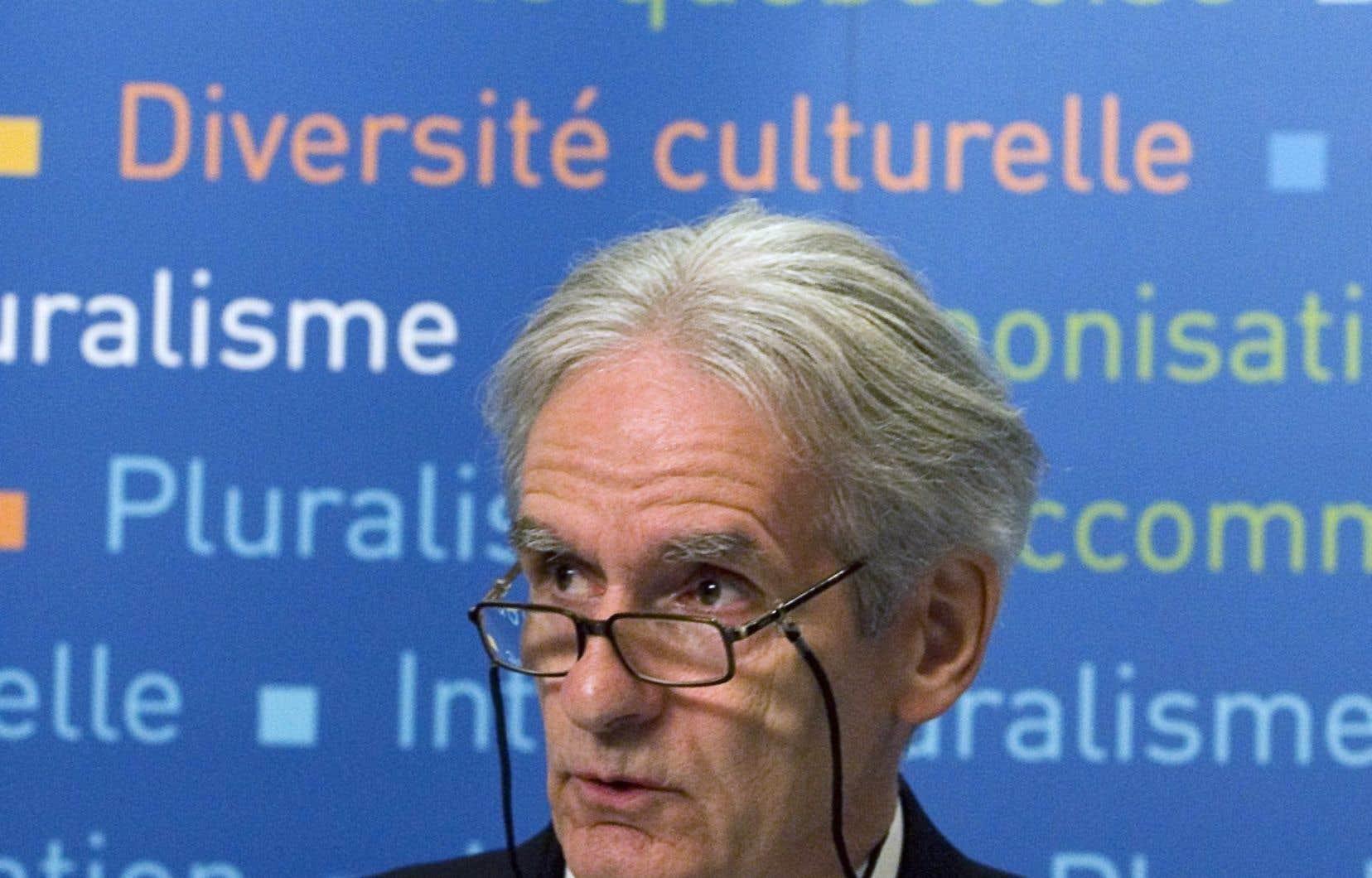 Le sociologue Gérard Bouchard