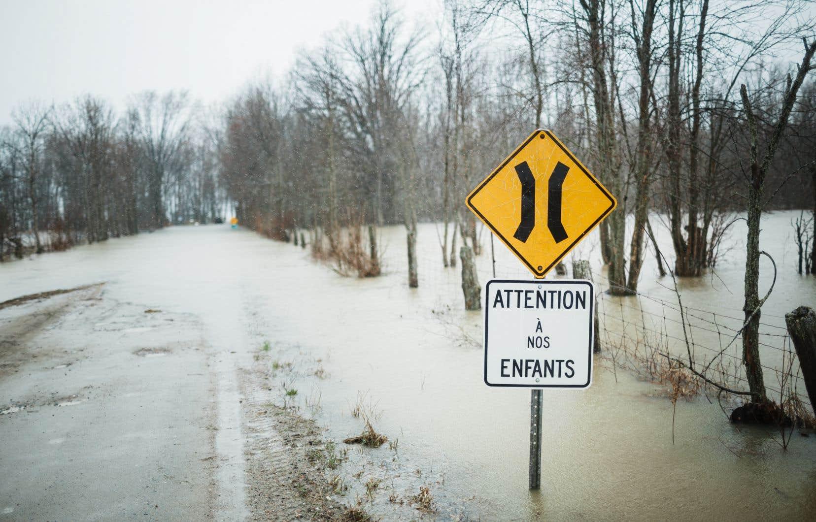 Les niveaux d'eau de la rivière des Outaouais pourraient dépasser ceux déjà vécus ce printemps.