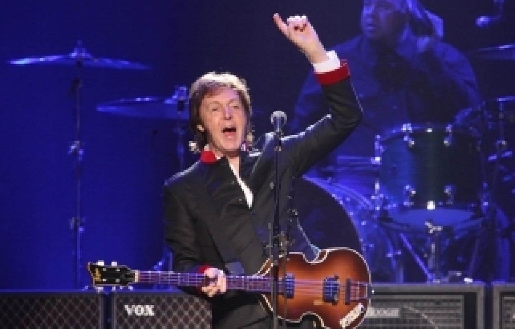 Paul McCartney a triomphé hier au Centre Bell