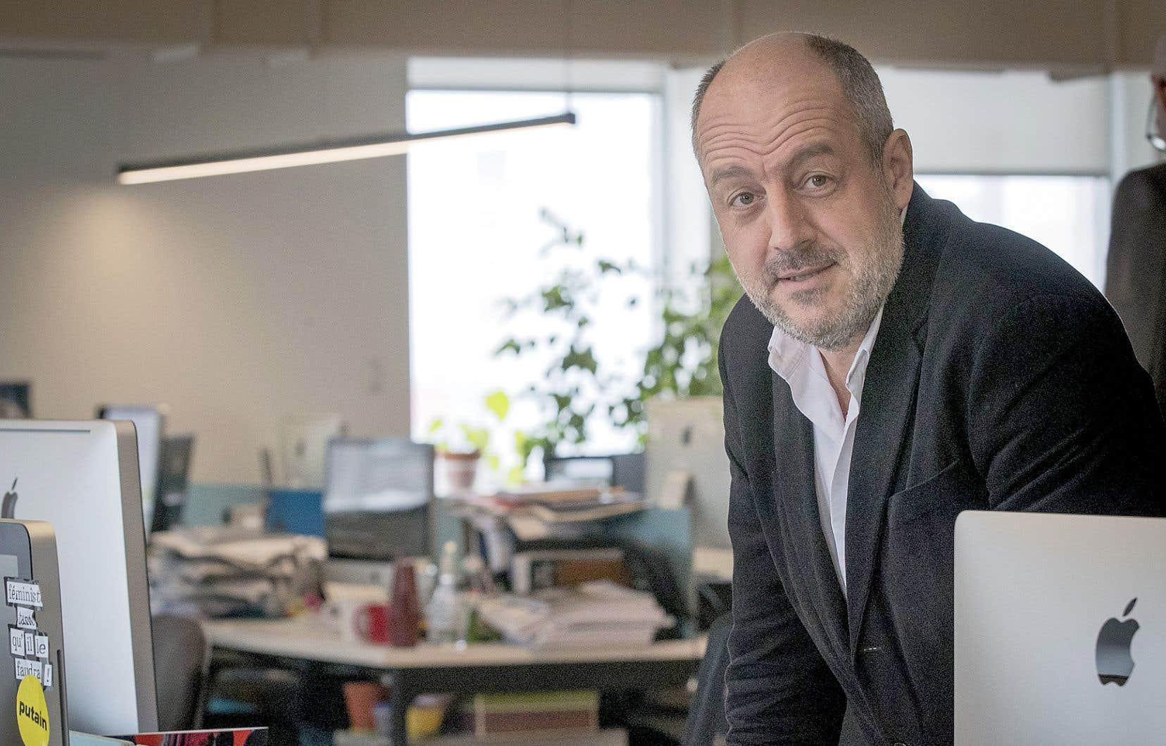Louis Dreyfus, président du directoire du Groupe Le Monde, était à Montréal, où il prononçait une conférence au Conseil des relations internationales de Montréal.