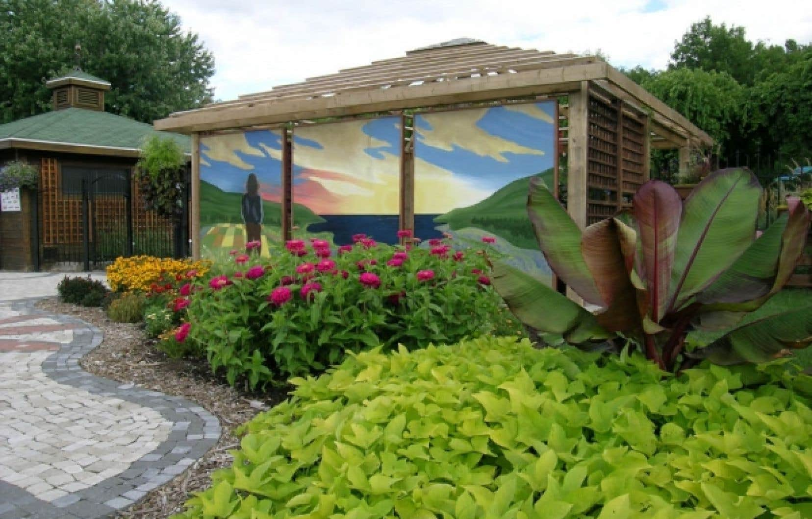 Le jardin daniel a s guin le devoir for Porte et fenetre quebecoise st hyacinthe