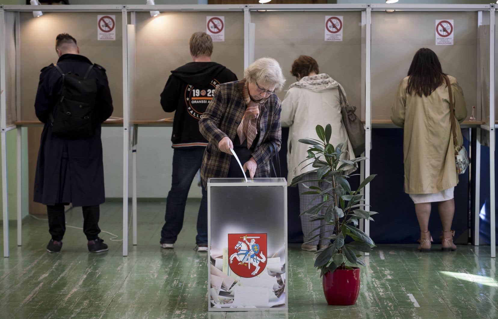 La campagne présidentielle a été dominée par la question de la fracture sociale entre riches et pauvres qui grandit en Lituanie en dépit d'une croissance solide.