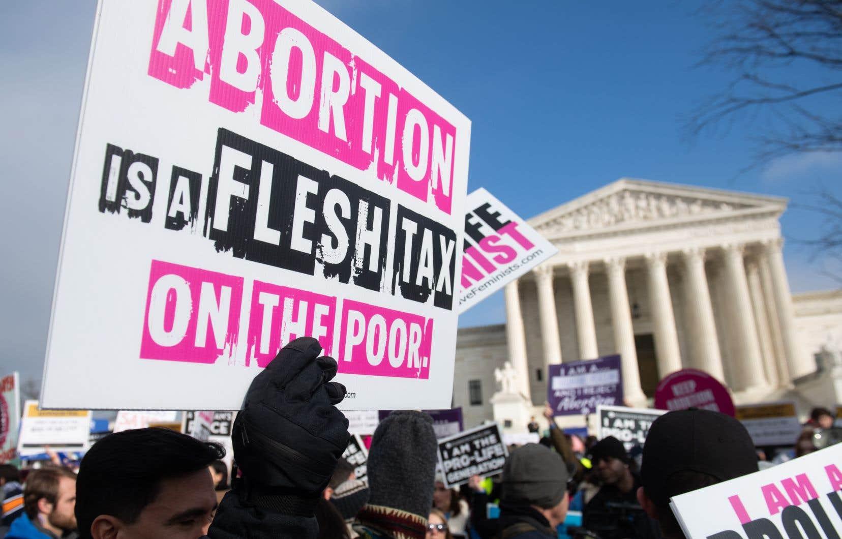Faire monter le dossier à la Cour suprême à Washington est l'objectif avoué des opposants à l'avortement.
