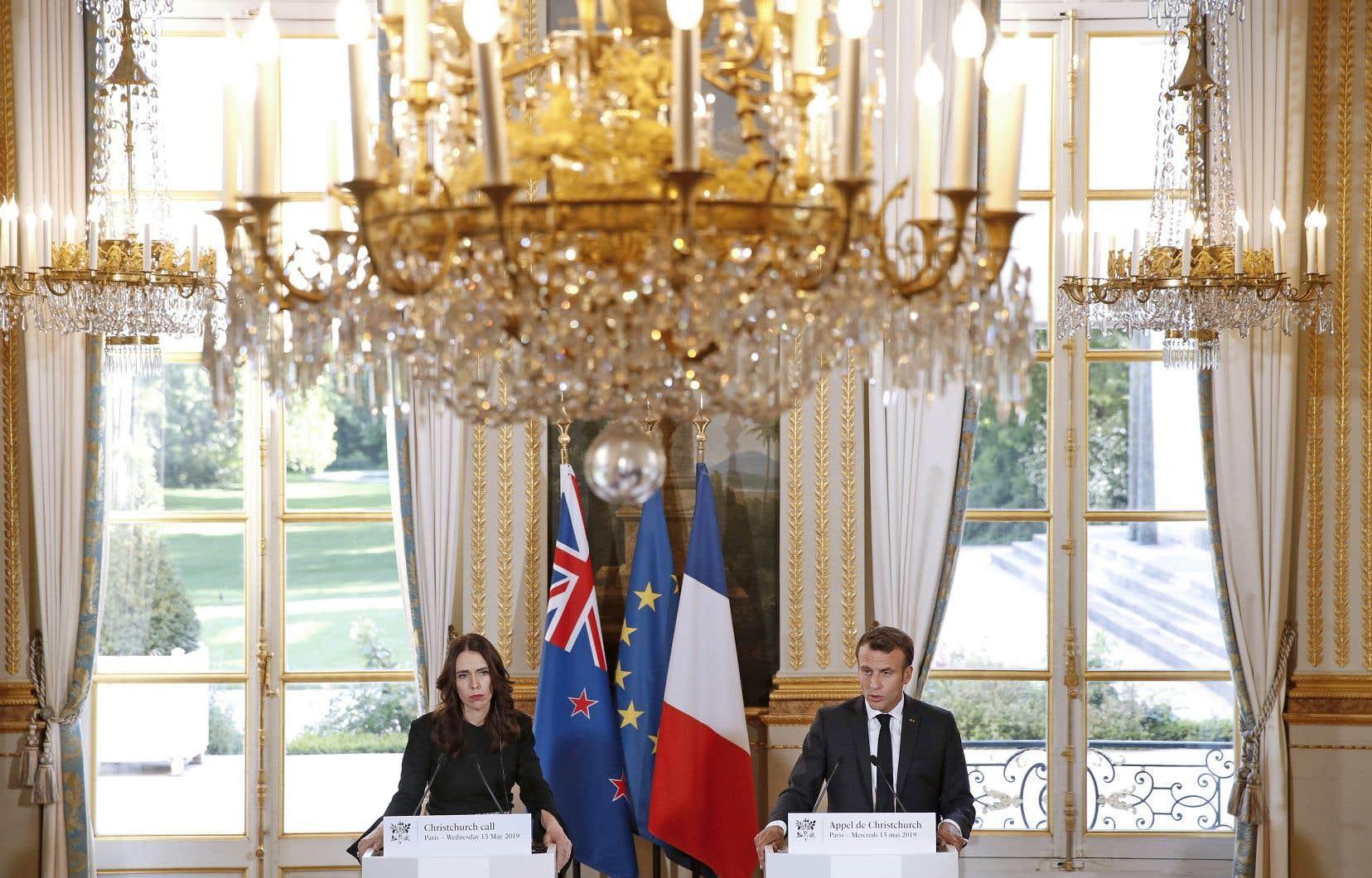 Cet «appel» a été lancé par le président français, Emmanuel Macron, et la première ministre néo-zélandaise Jacinda Ardern, deux mois après la diffusion en direct sur Facebook de l'attaque contre des mosquées en Nouvelle-Zélande.