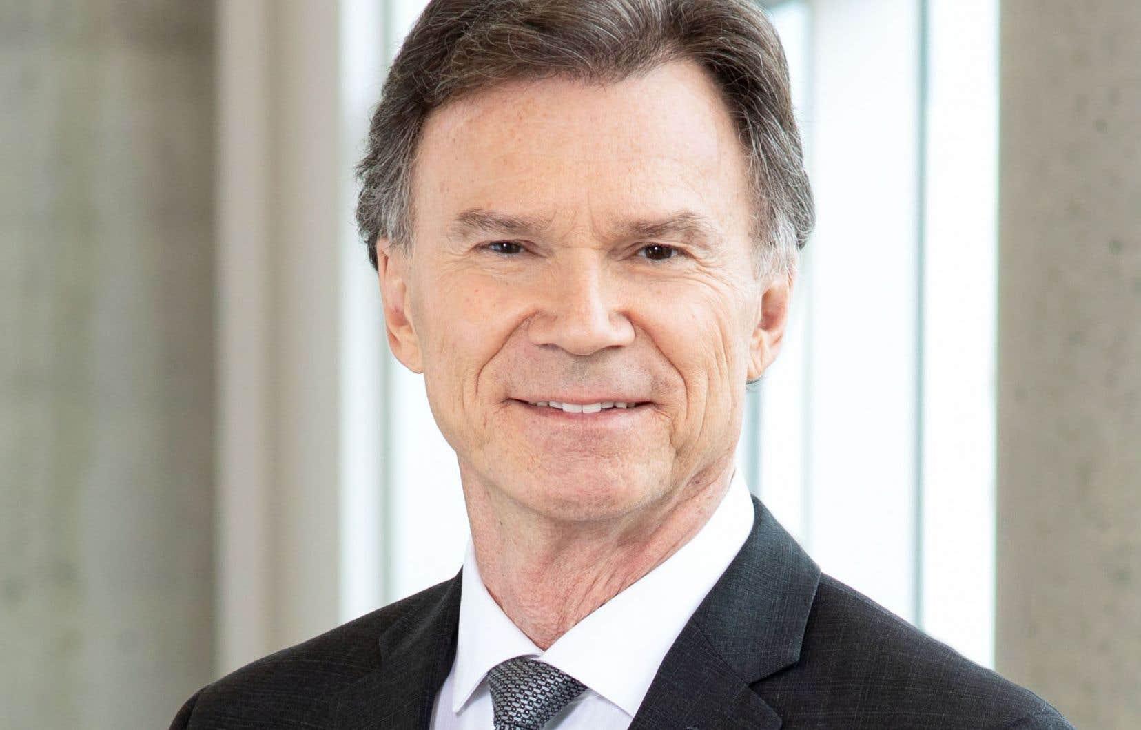 Le directeur général des élections, Pierre Reid