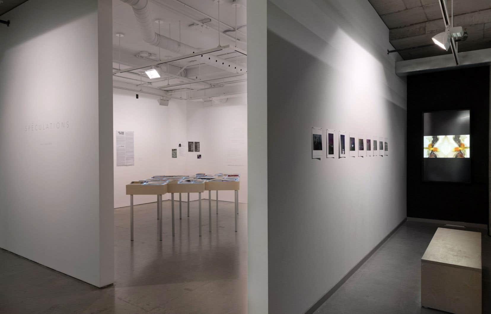 Dans son exposition «Spéculations», la commissaire Joana Joachim nous invite à réfléchir à des types de fictions similaires dans le domaine des arts visuels.