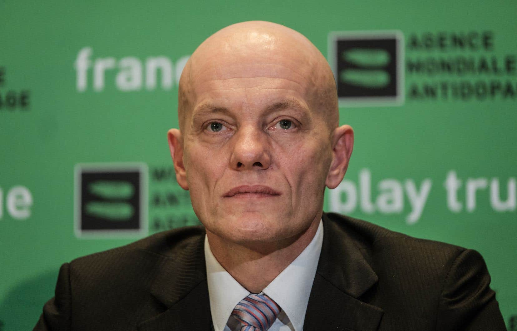 Le responsable de l'unité d'enquête de l'Agence mondiale antidopage, Günter Younger