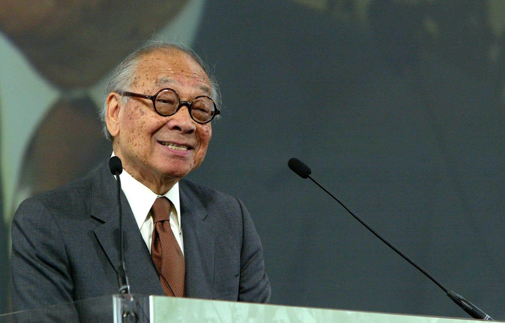 Ieoh Ming Pei était diplômé du Massachusetts Institute of Technology (MIT) et de l'école de design de l'Université Harvard.