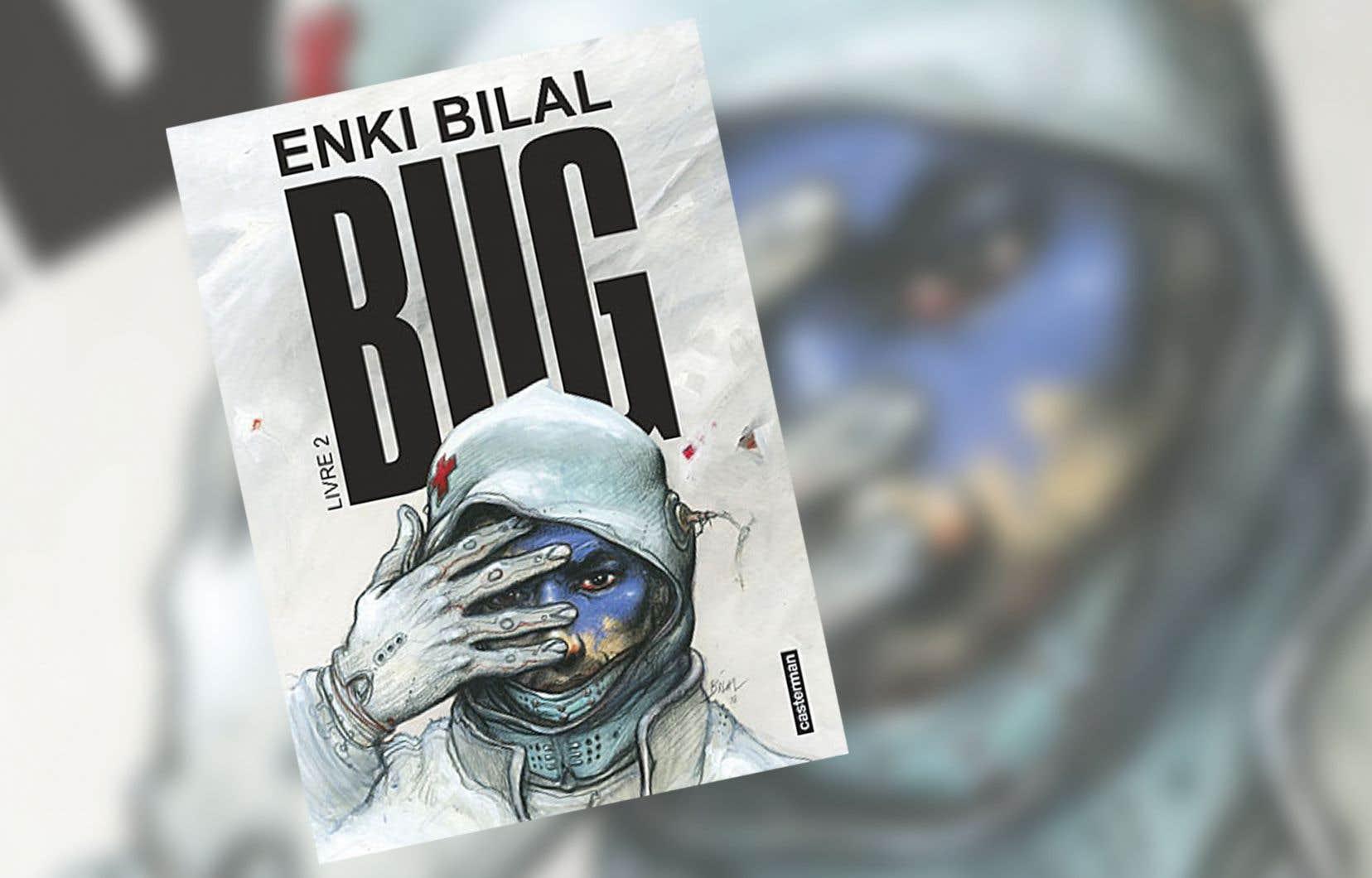 Enki Bilal réussit de main de maître, ce qui laisse présager que «Bug», une fois achevé, pourrait occuper une place importante dans son œuvre.
