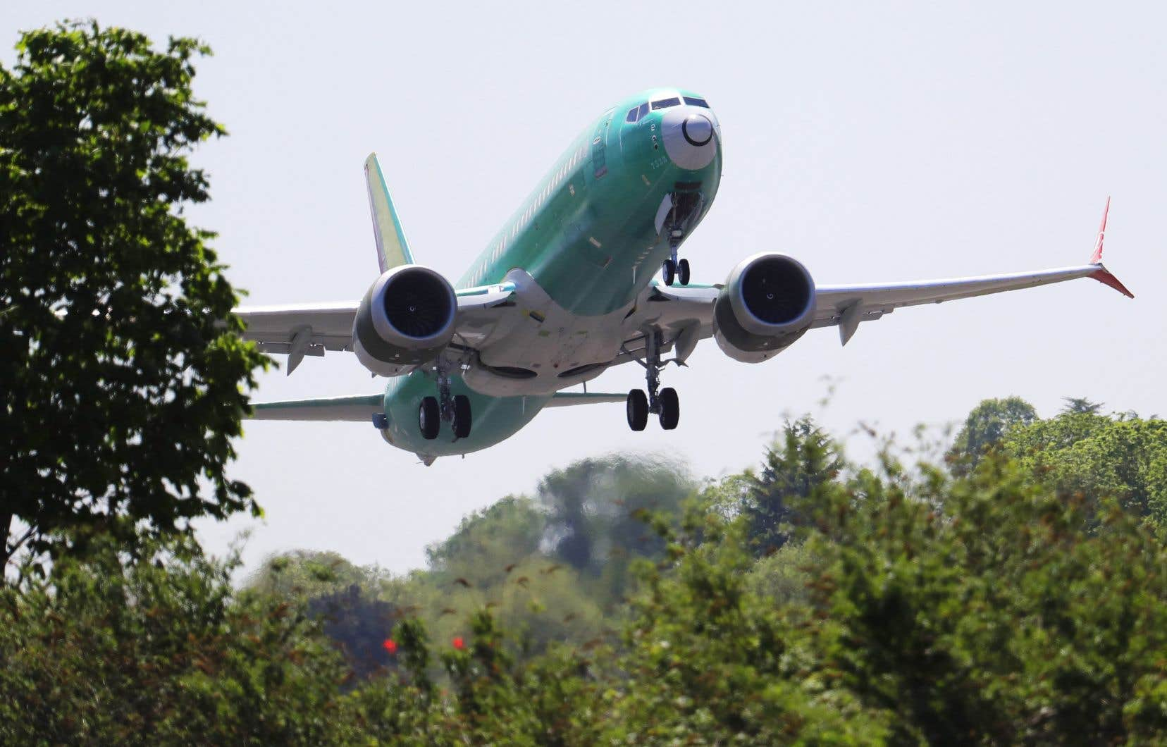C'est la première fois que Boeing admet un défaut de conception concernant un équipement du 737 MAX.