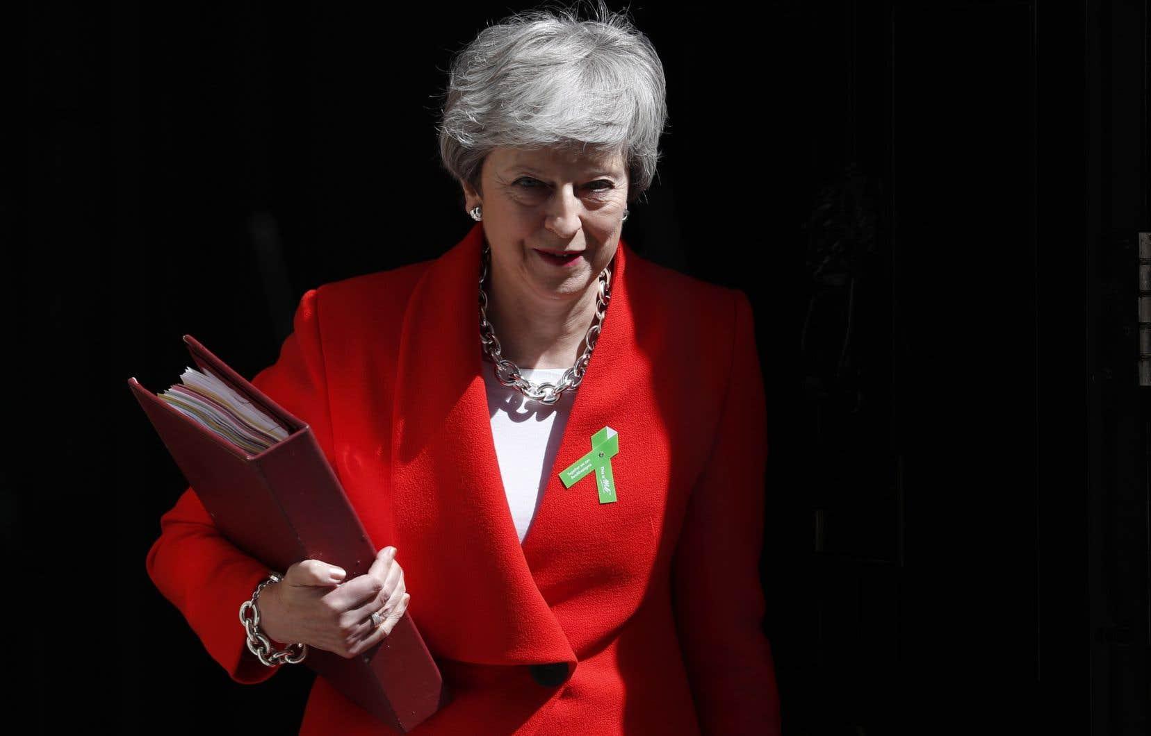 Les députés ont rejeté par trois fois l'accord sur le Brexit négocié par MmeMay avec l'Union européenne.