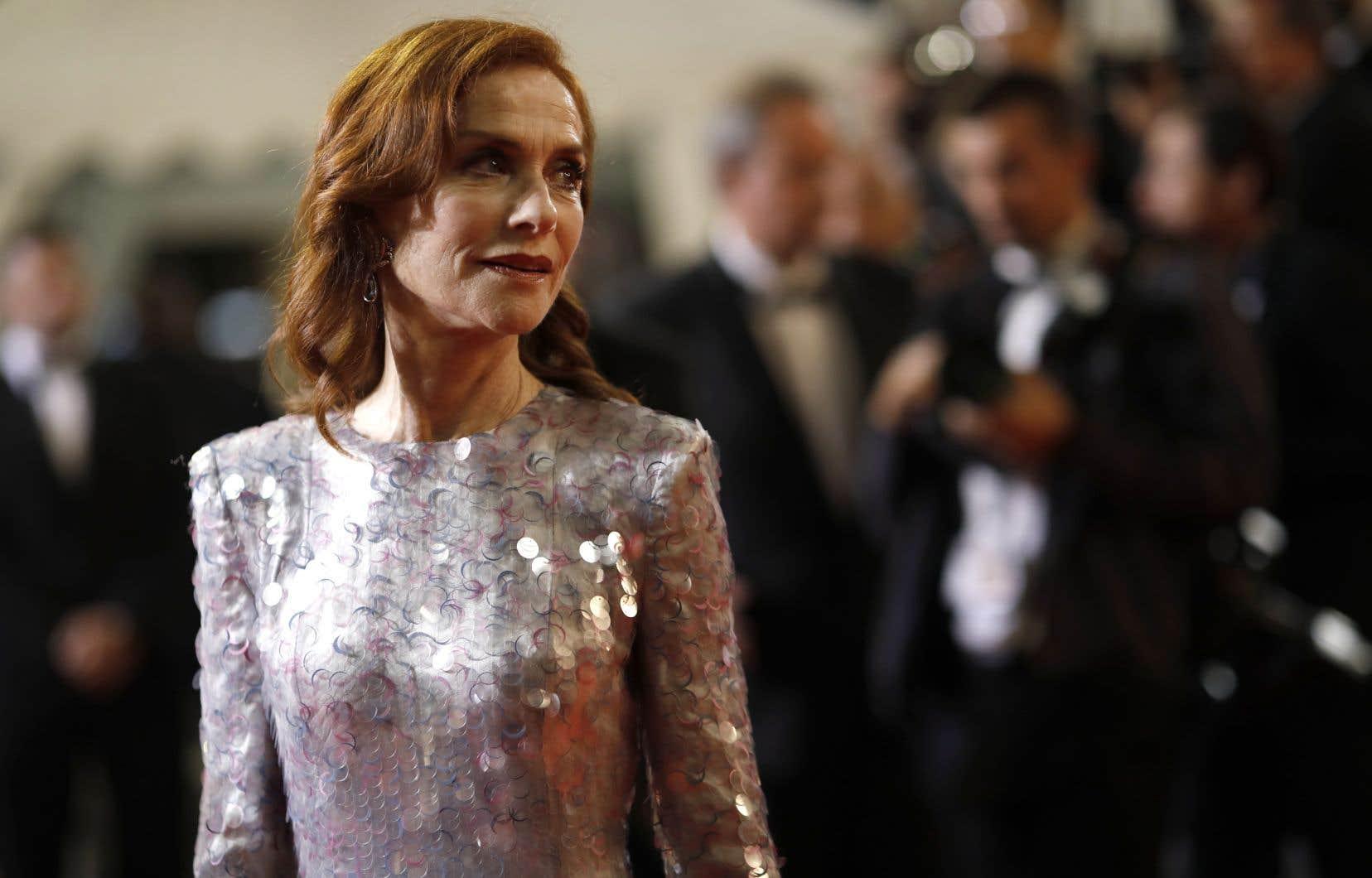 En compétition, le film «Frankie» n'aurait pu être porté par une autre actrice qu'Isabelle Huppert sans verser dans le pathos.